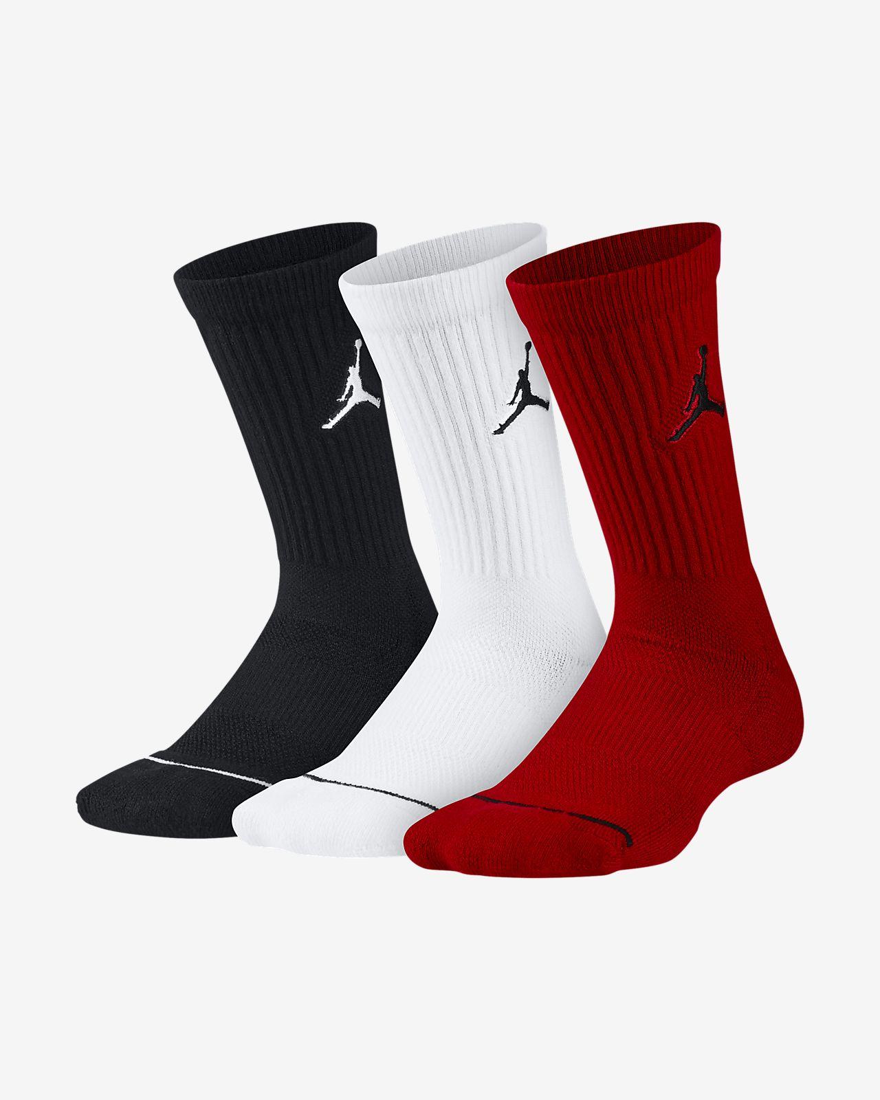 Jordan Jumpman Crew Basketball Socks (3 Pairs)