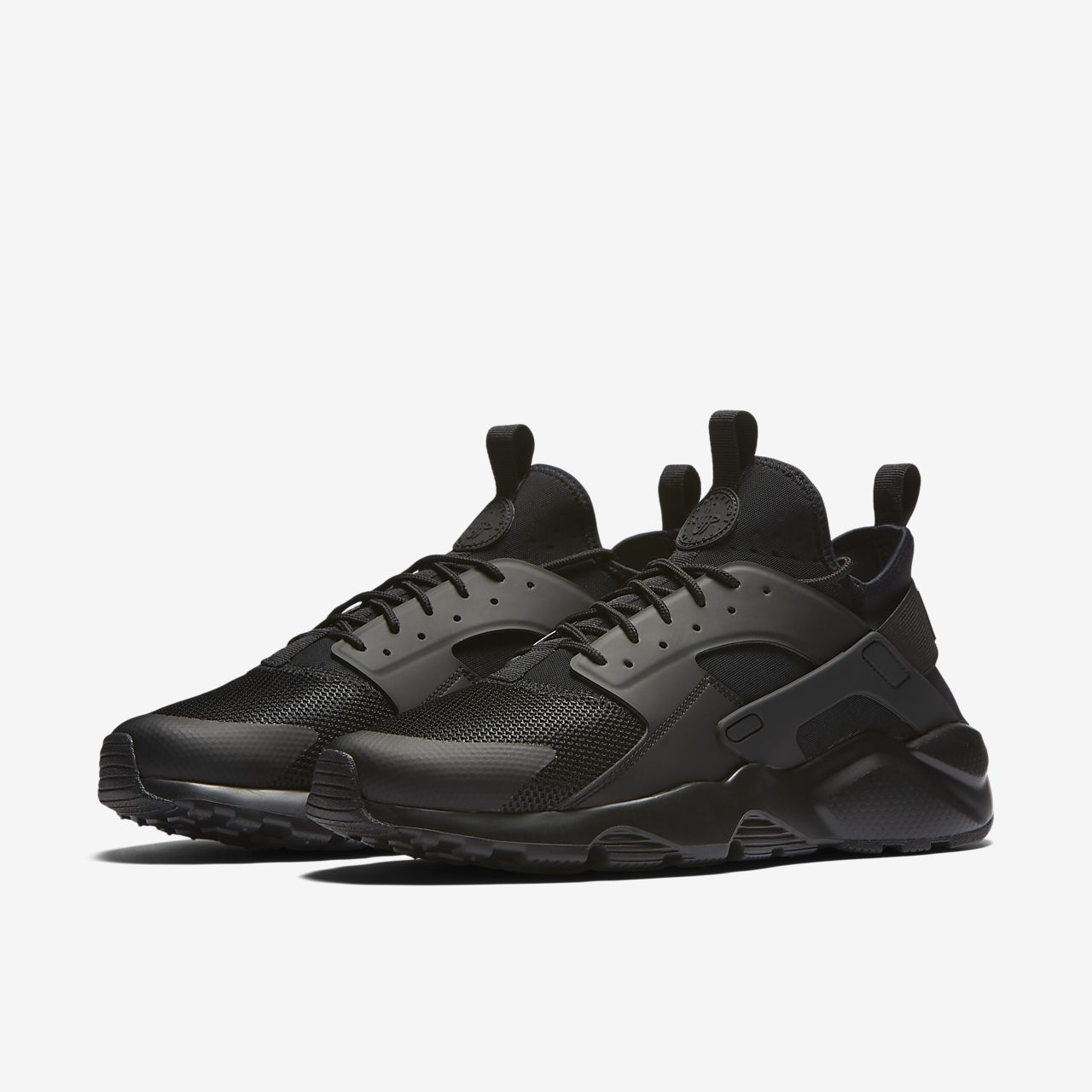 Nike Huarache D'air Triples Coupes De Cheveux Mens Noirs braderie aberdeen réduction abordable LVTjm