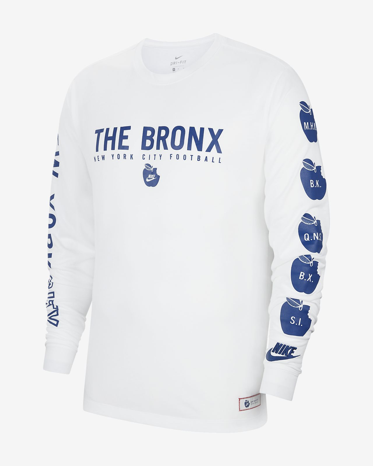 Nike Breathe NYC Long-Sleeve Top