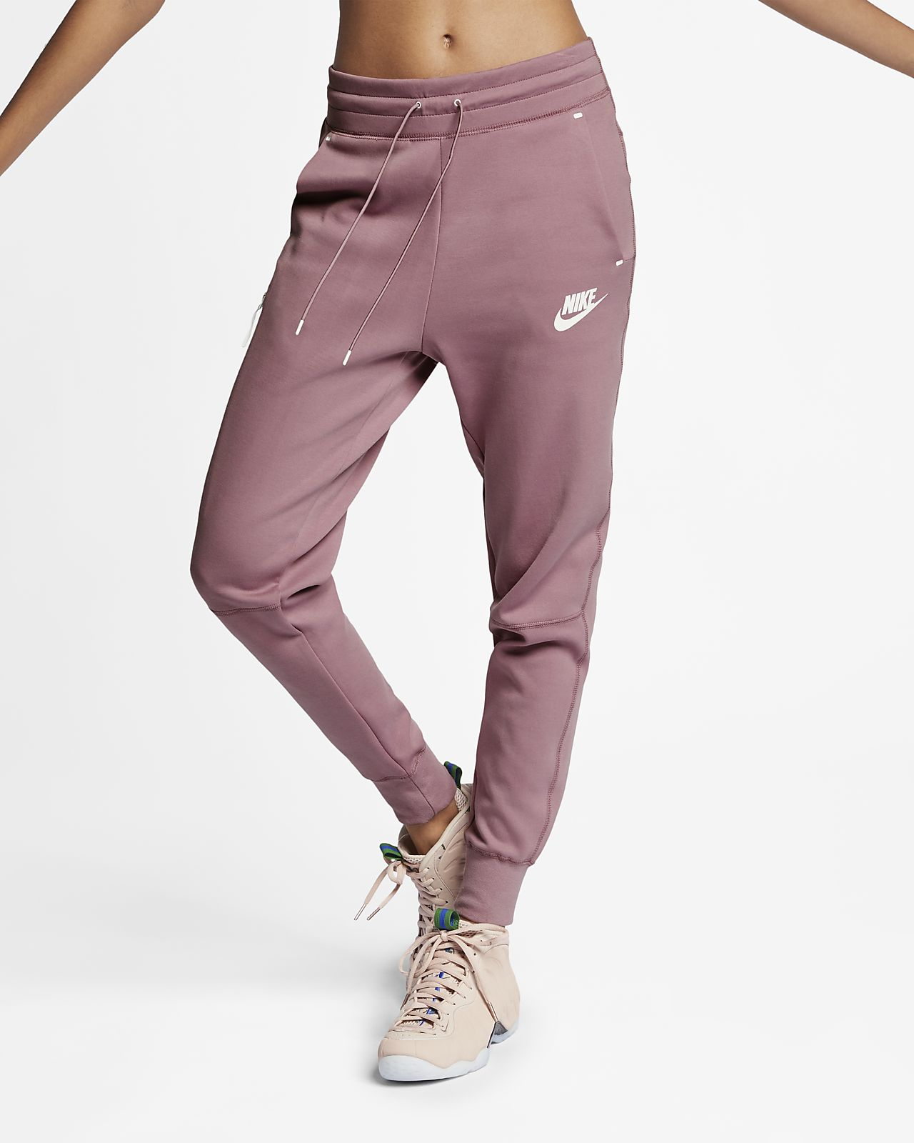 5bd17079 Nike Sportswear Tech Fleece-bukser til kvinder. Nike.com DK