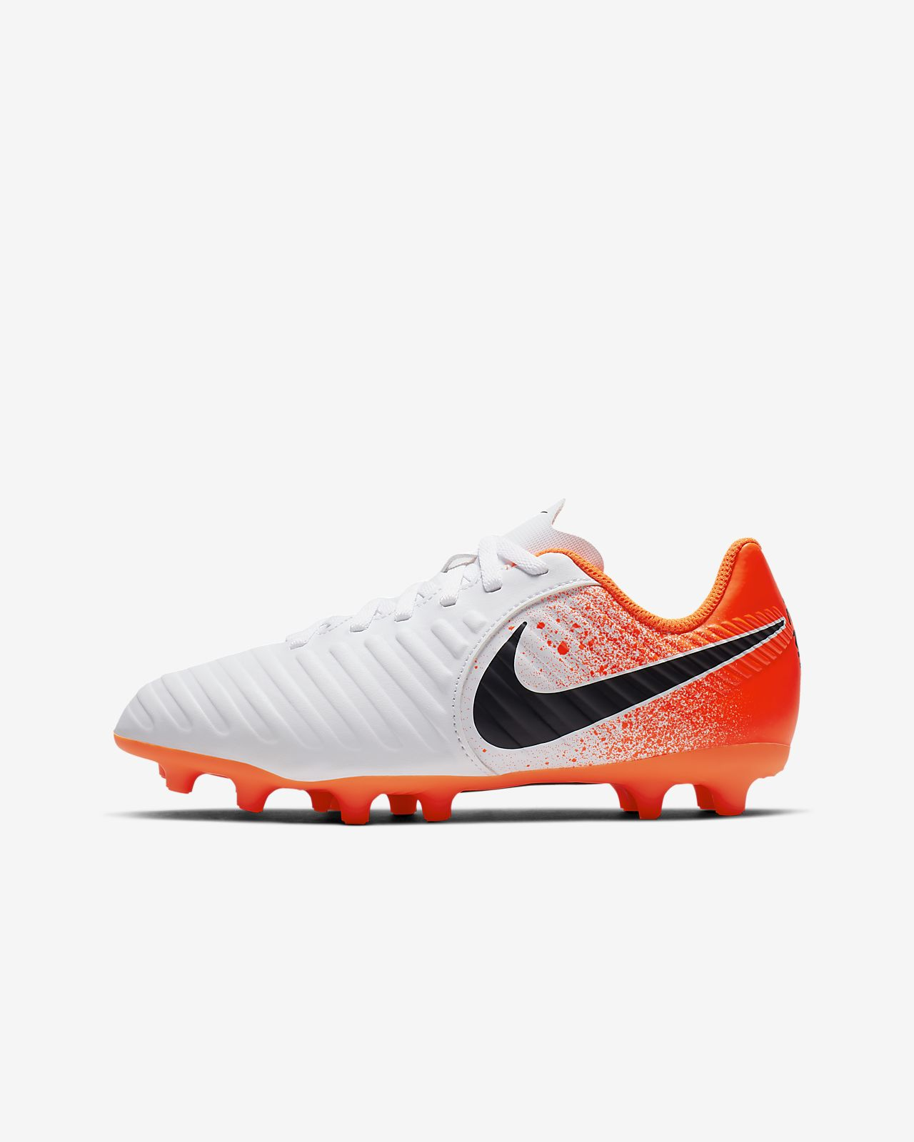 5d564b6e1 ... Kids  Firm-Ground Football Boot. Nike Jr. Tiempo Legend VII Club FG