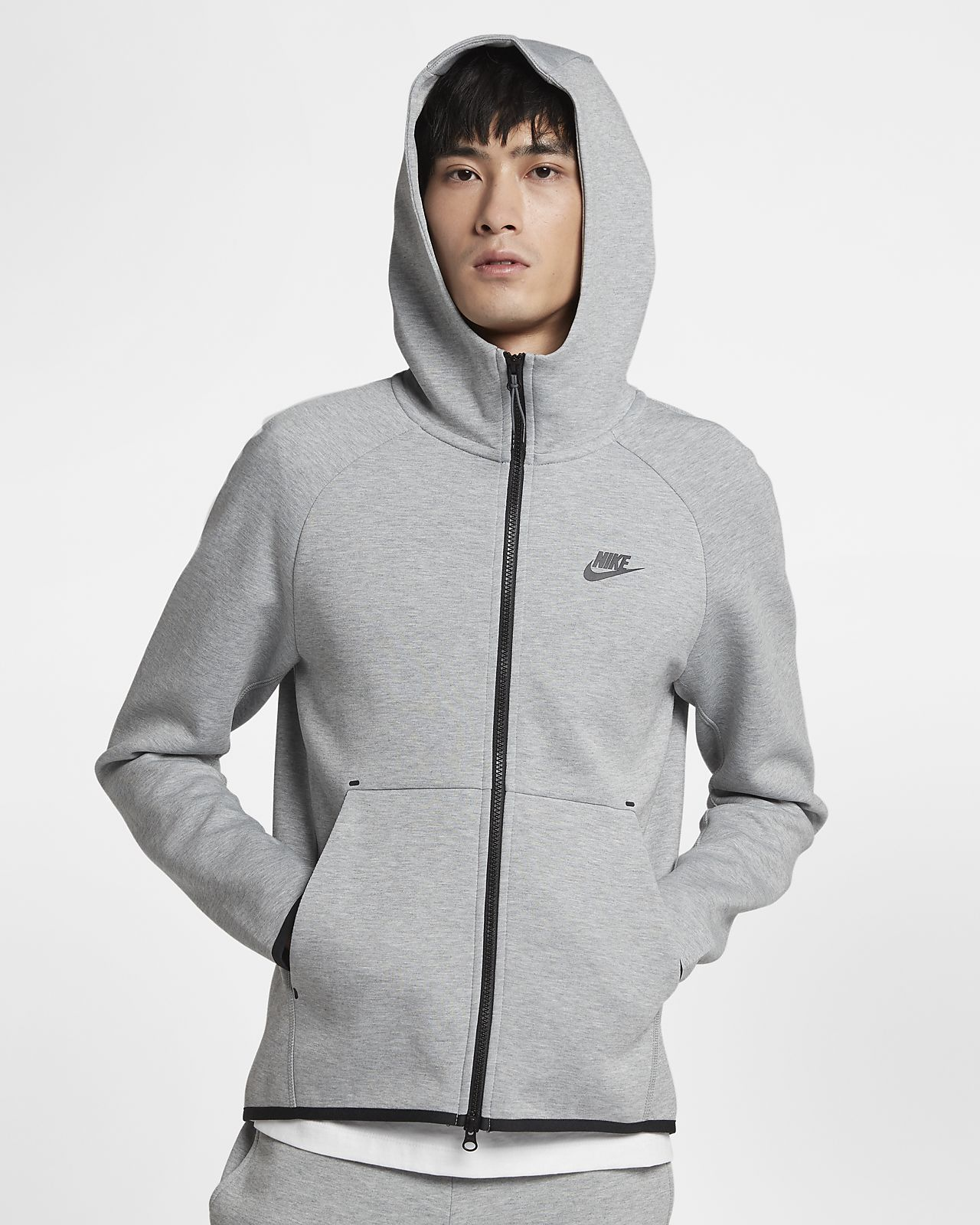 Huvtröja Nike Sportswear Tech Fleece Full-Zip för män