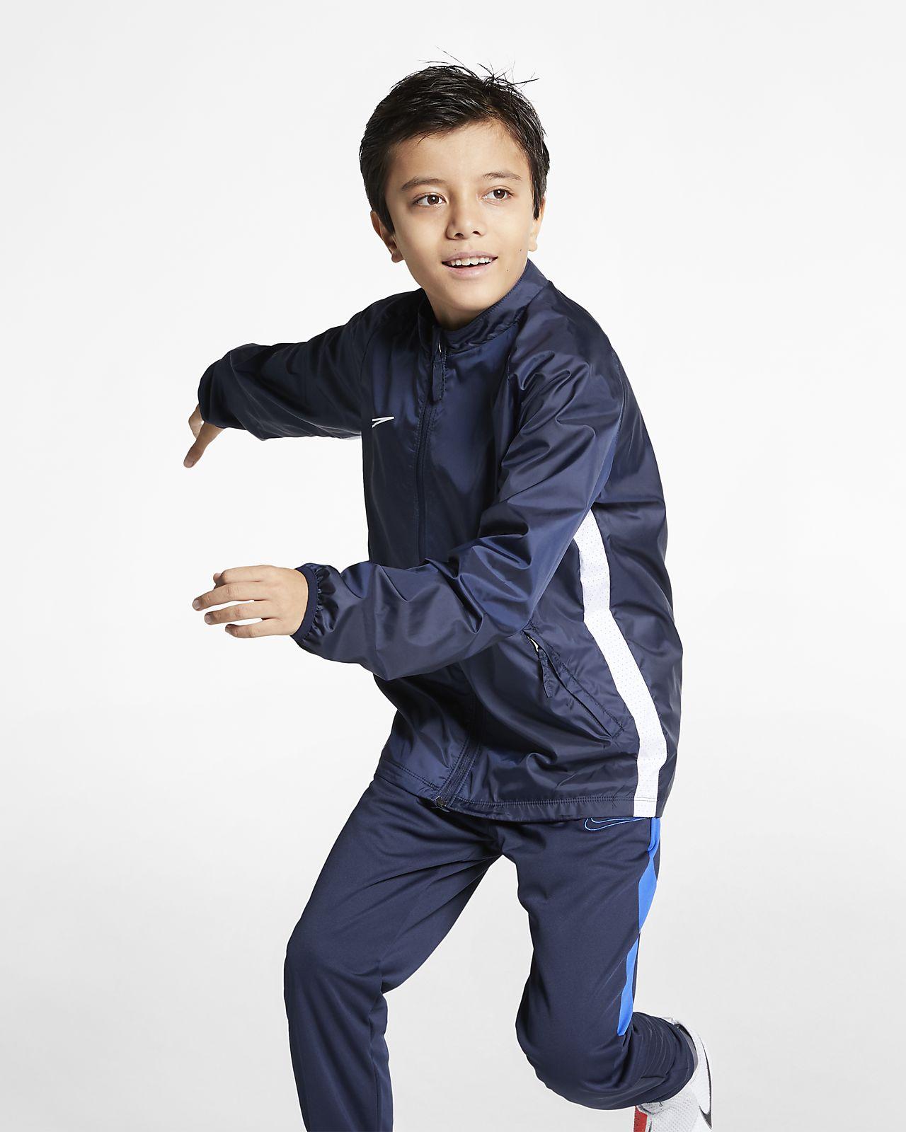 Fotbollsjacka Nike Academy för ungdom