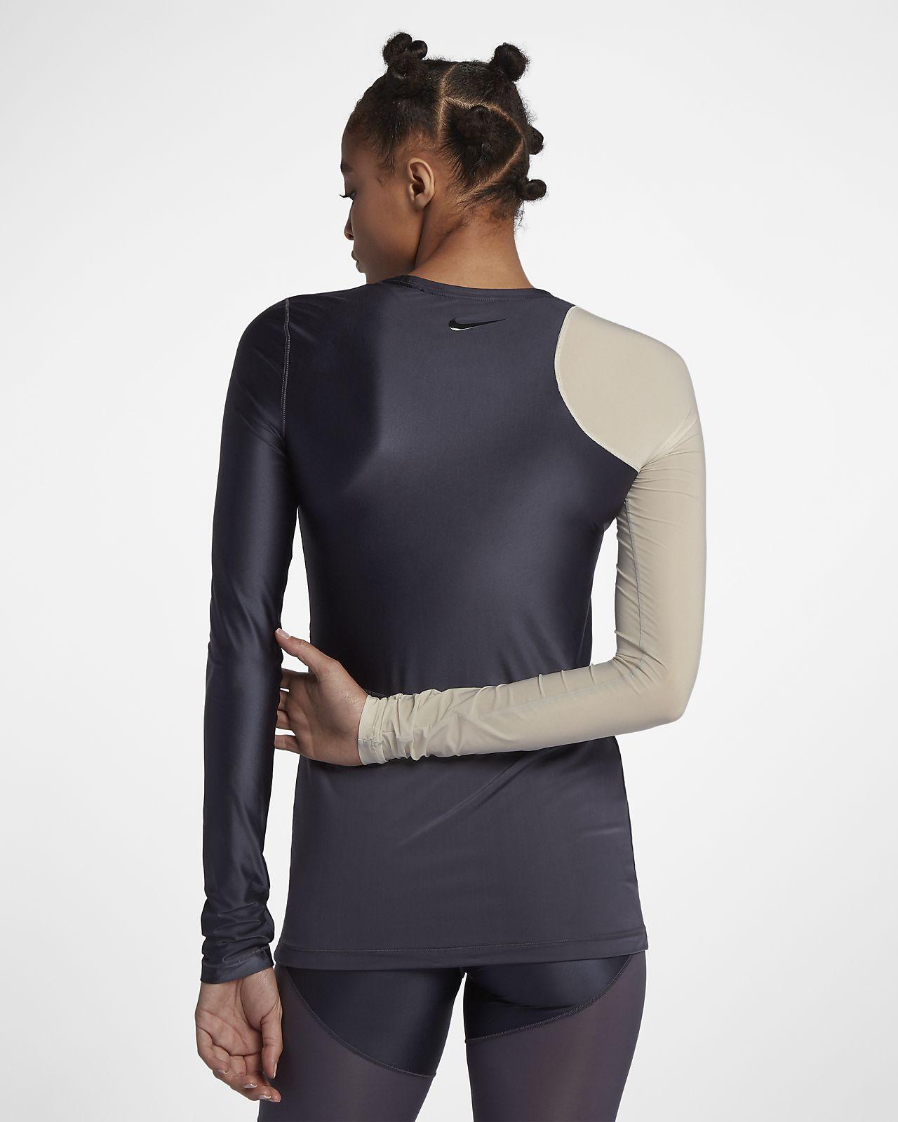 Haut de training à manches longues Nike Pro HyperCool pour Femme ... 1be7999e819f