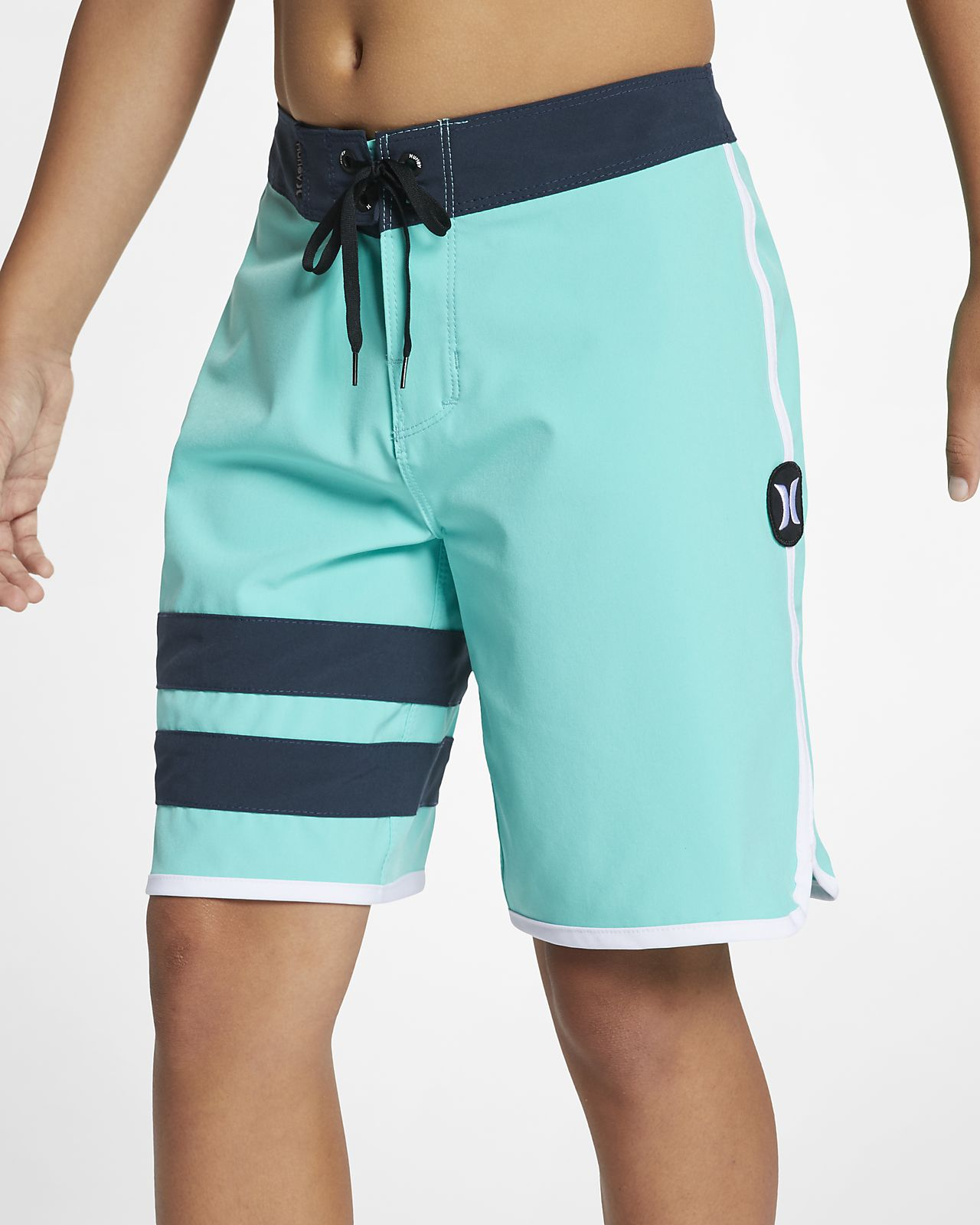 "Hurley Phantom Block Party Solid Boys' 16"" Board Shorts"