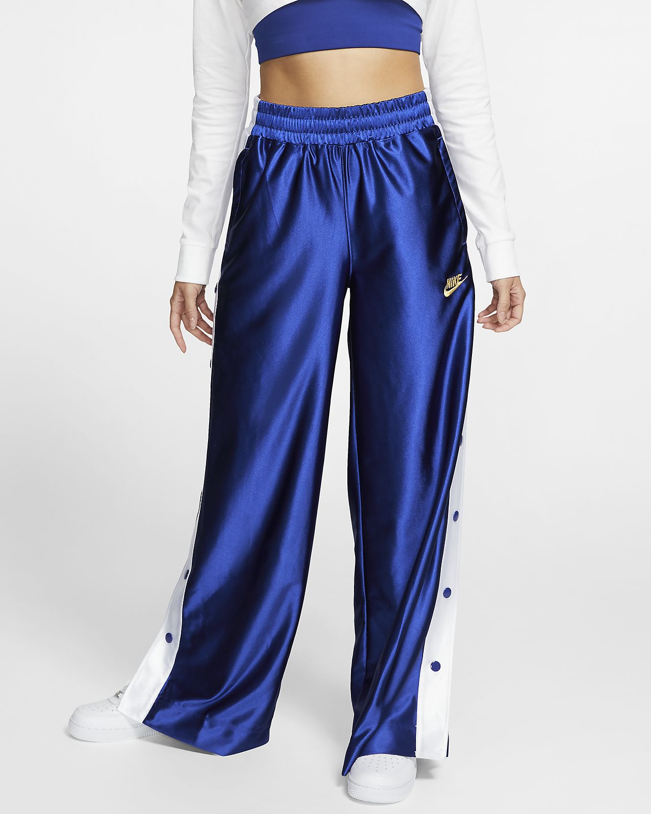 Kort Nike Sportswear Icon Clash-popper-bukser til kvinder