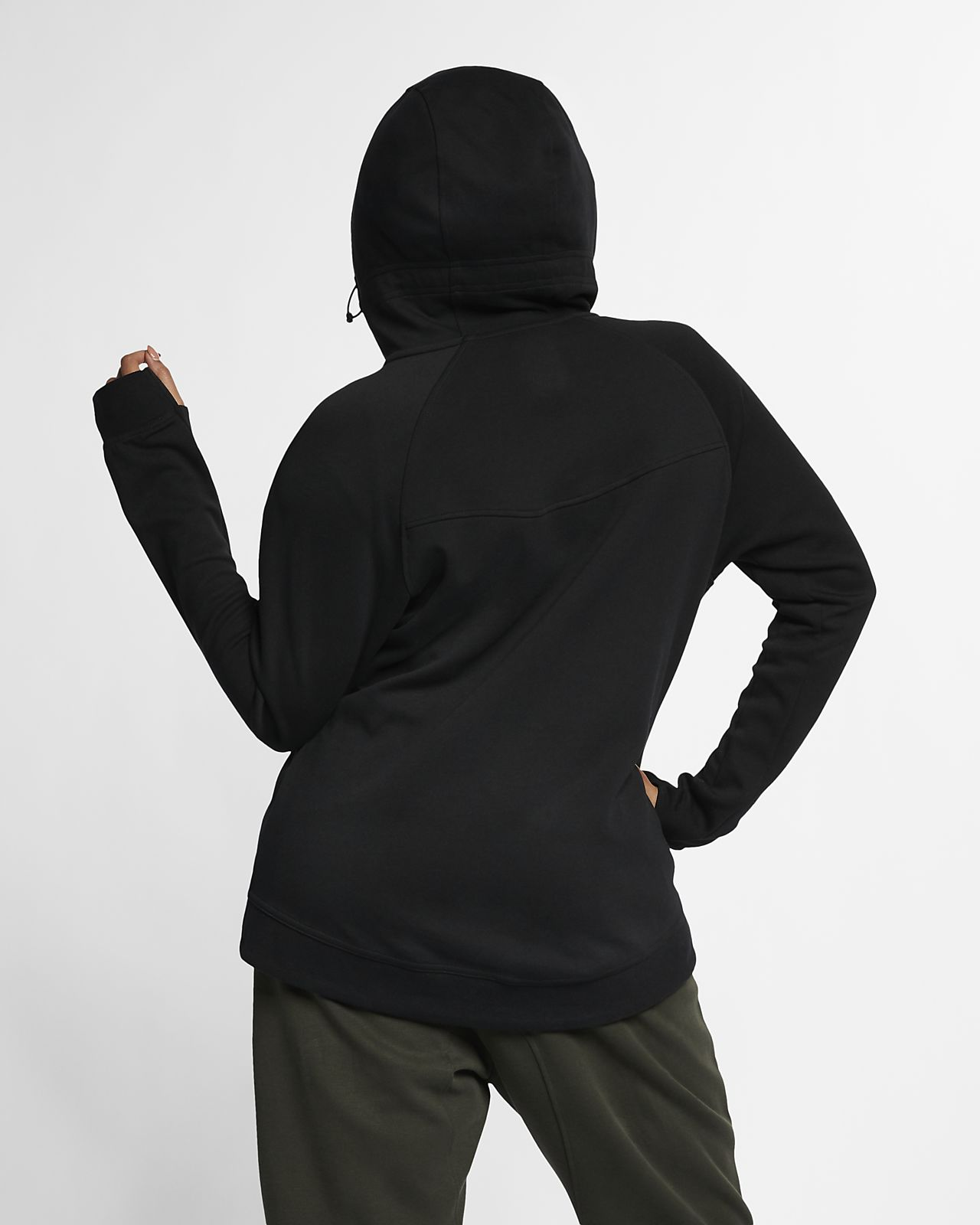 a0cf3a8ec Nike Sportswear Tech Fleece (Plus Size) Women s Full-Zip Hoodie ...