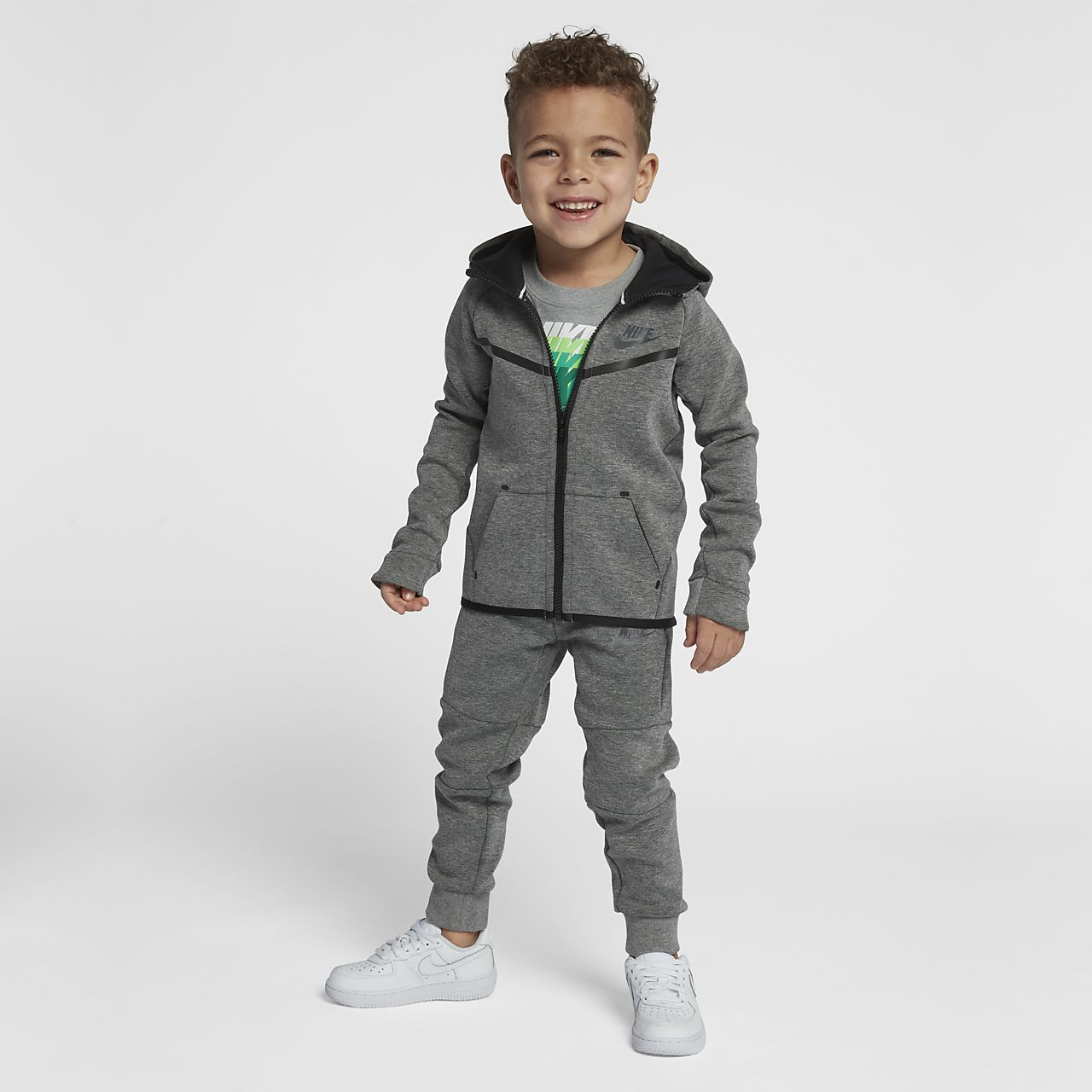 Tvådelat set Nike Tech Fleece för små barn