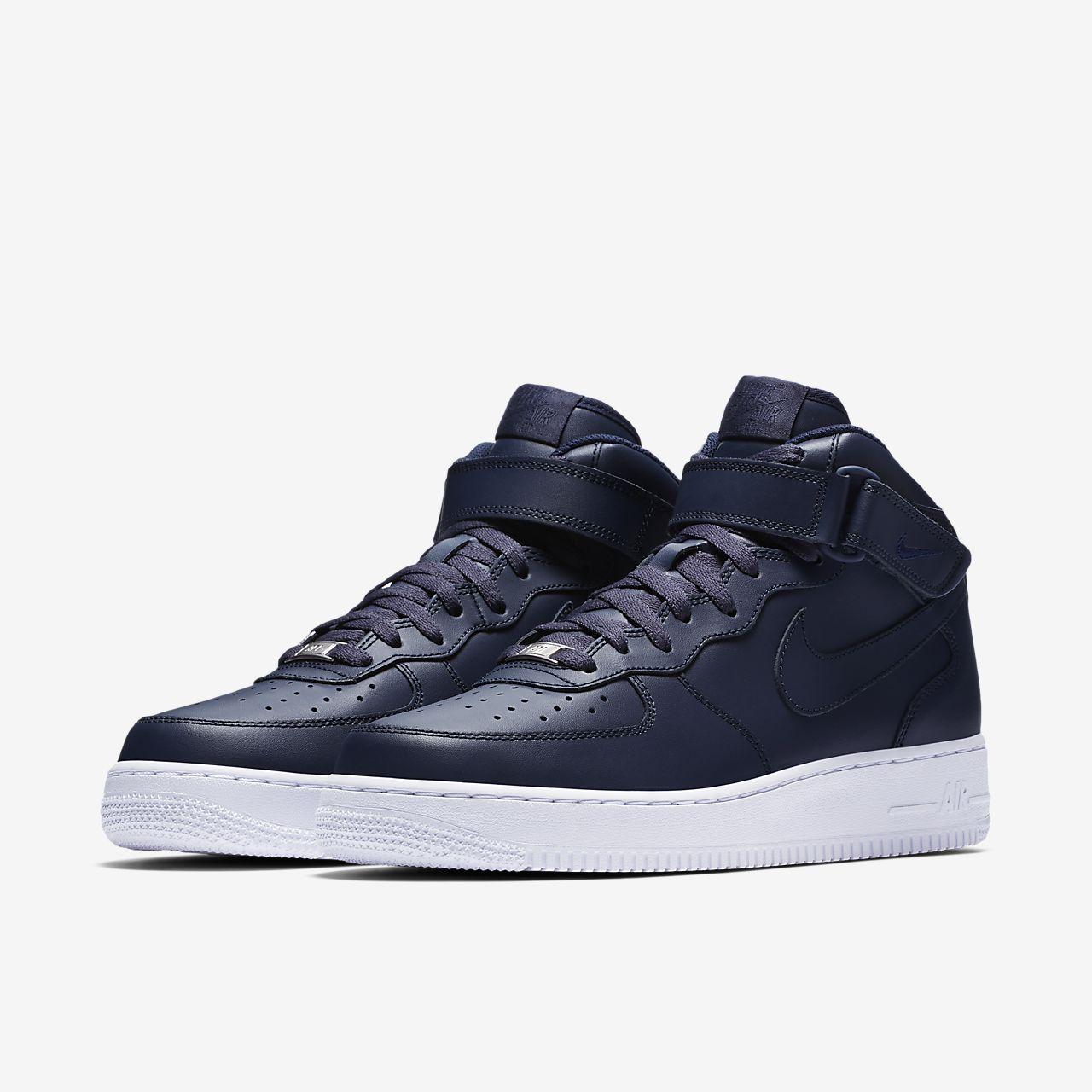 Nike Air Force 1 07 Mediados Azul Blanco ofertas de salida oficial para barato precio barato profesional comprar barato comercializable ckNWzlCF