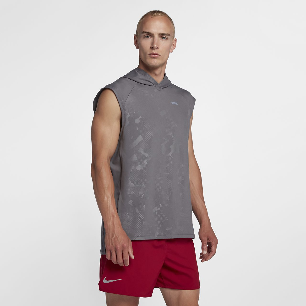 9d0e41582017e9 Low Resolution Nike Men s Sleeveless Running Hoodie Nike Men s Sleeveless  Running Hoodie