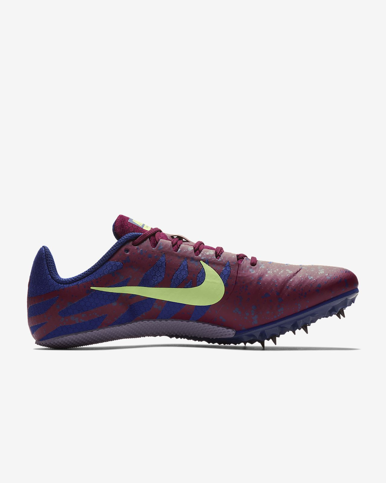 new product db643 a40e0 ... Chaussure de course à pointes mixte Nike Zoom Rival S 9