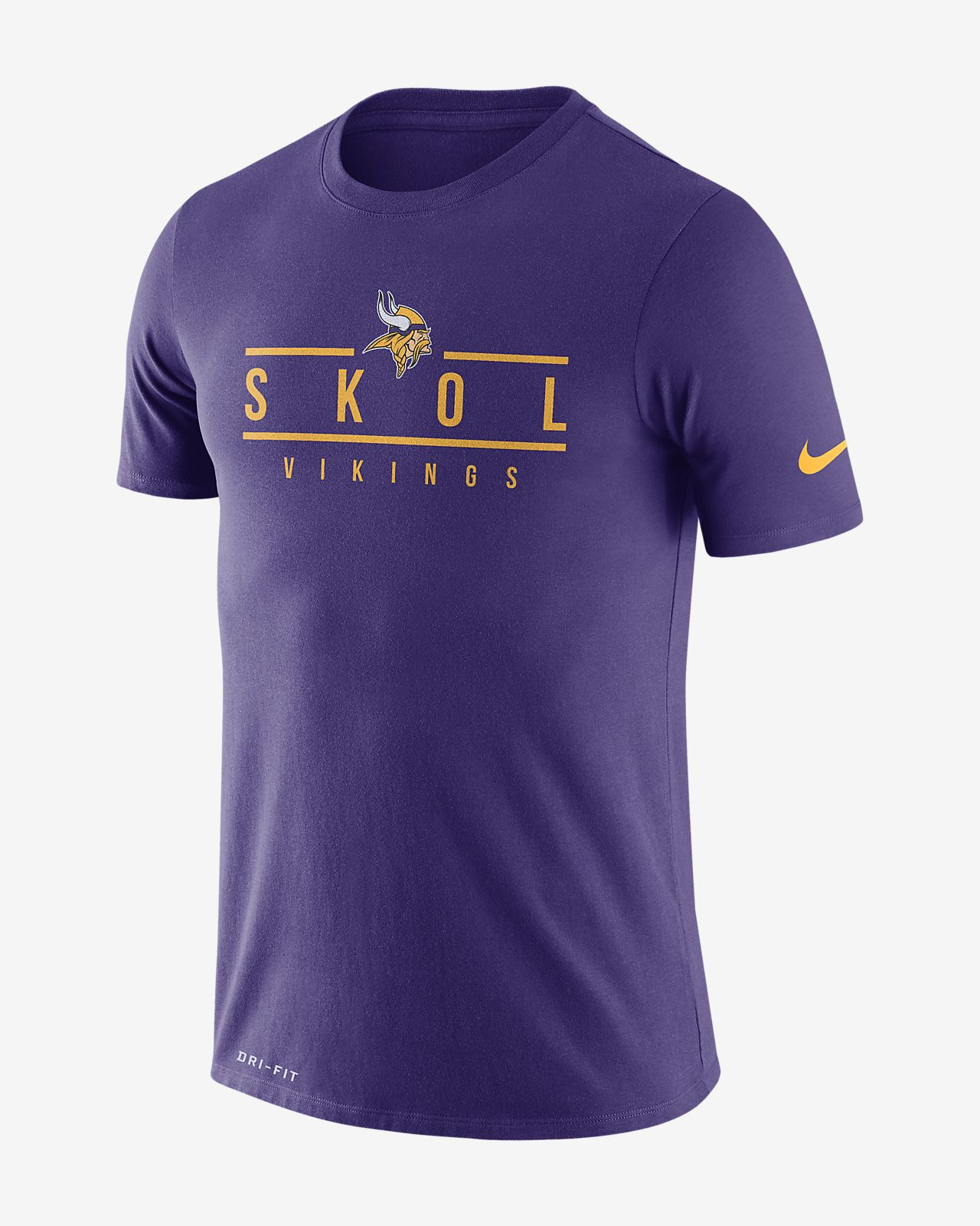 Nike Dri-FIT Local (NFL Vikings) Men's T-Shirt