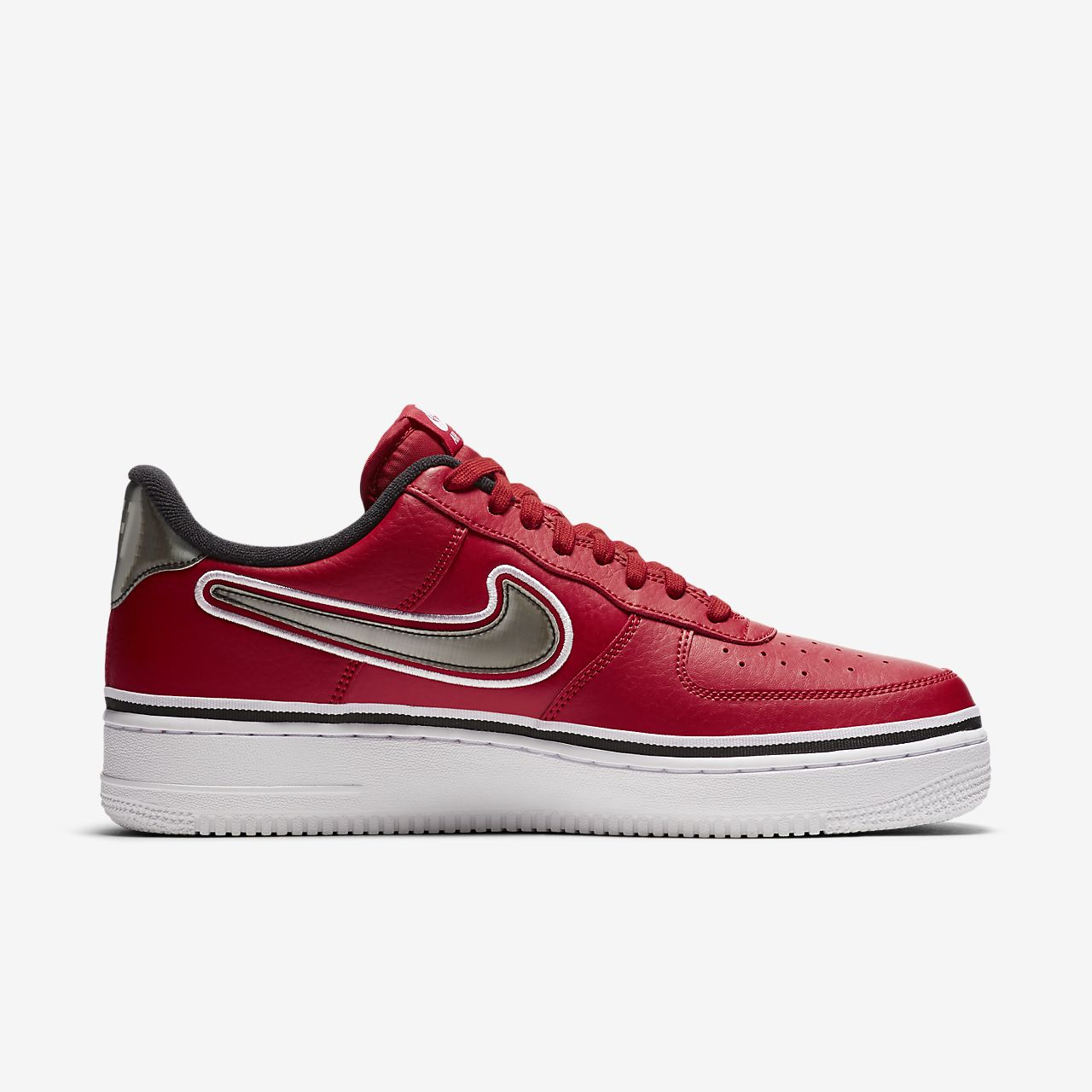 8c435bc34a8 Nike Air Force 1 NBA Low (Chicago Bulls) Men s Shoe. Nike.com GB