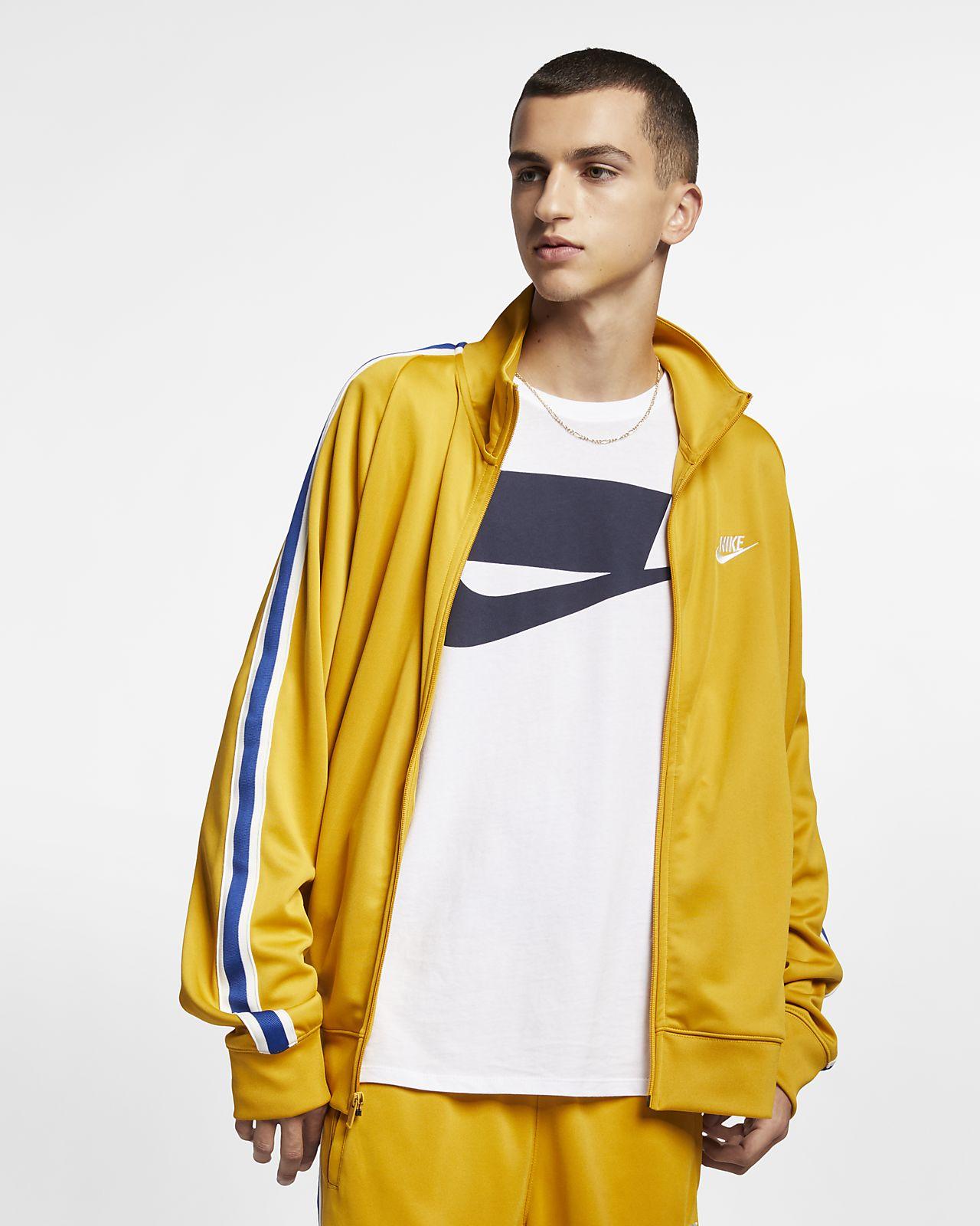 Uomo Nike Giacca Sportswear N98 Maglia Da loose Riscaldamento Fit In qawPwzIO
