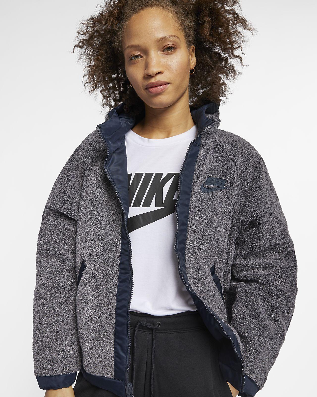 Veste réversible Nike Sportswear NSW Sherpa pour Femme