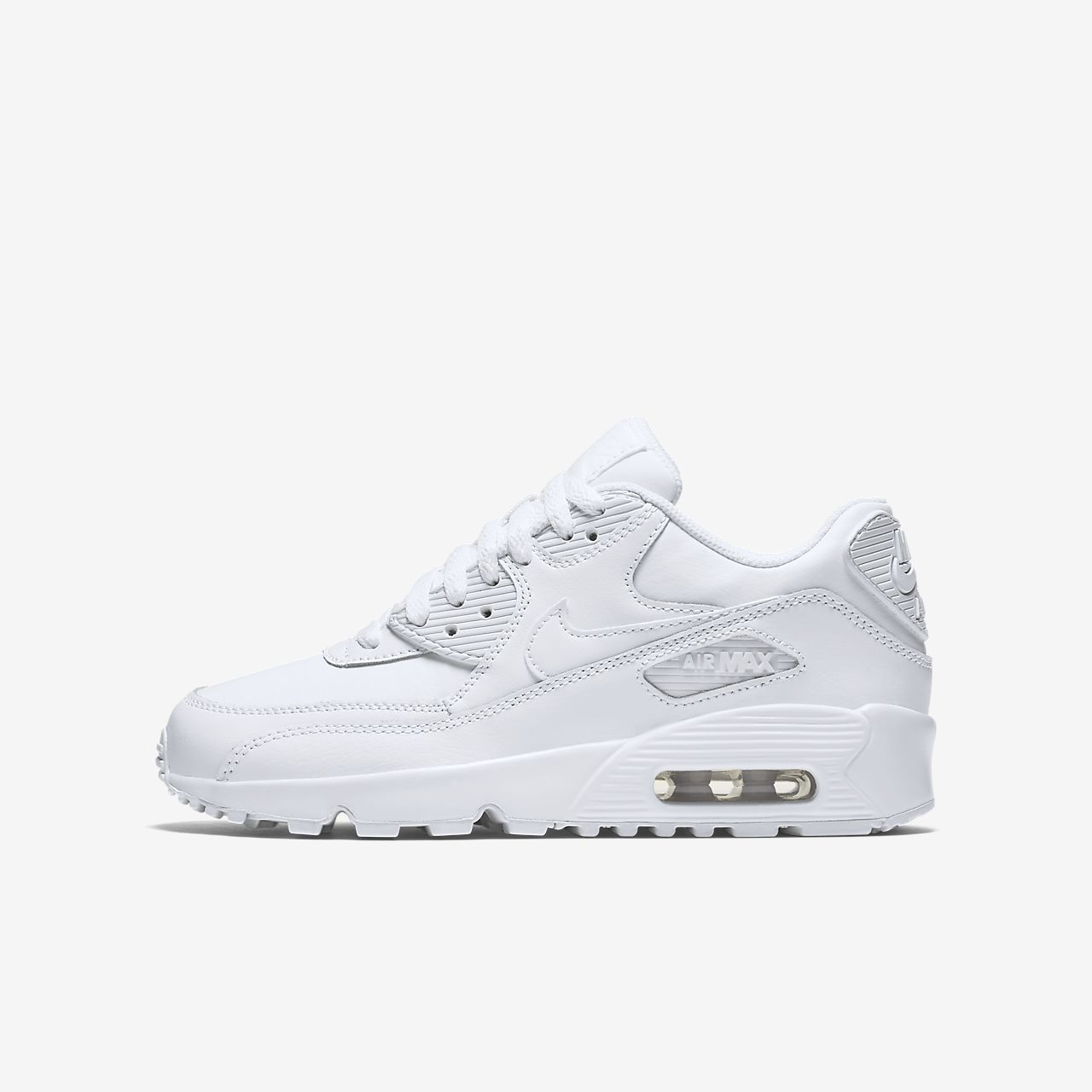 size 40 9fd44 7245a ... Sko Nike Air Max 90 Leather för ungdom