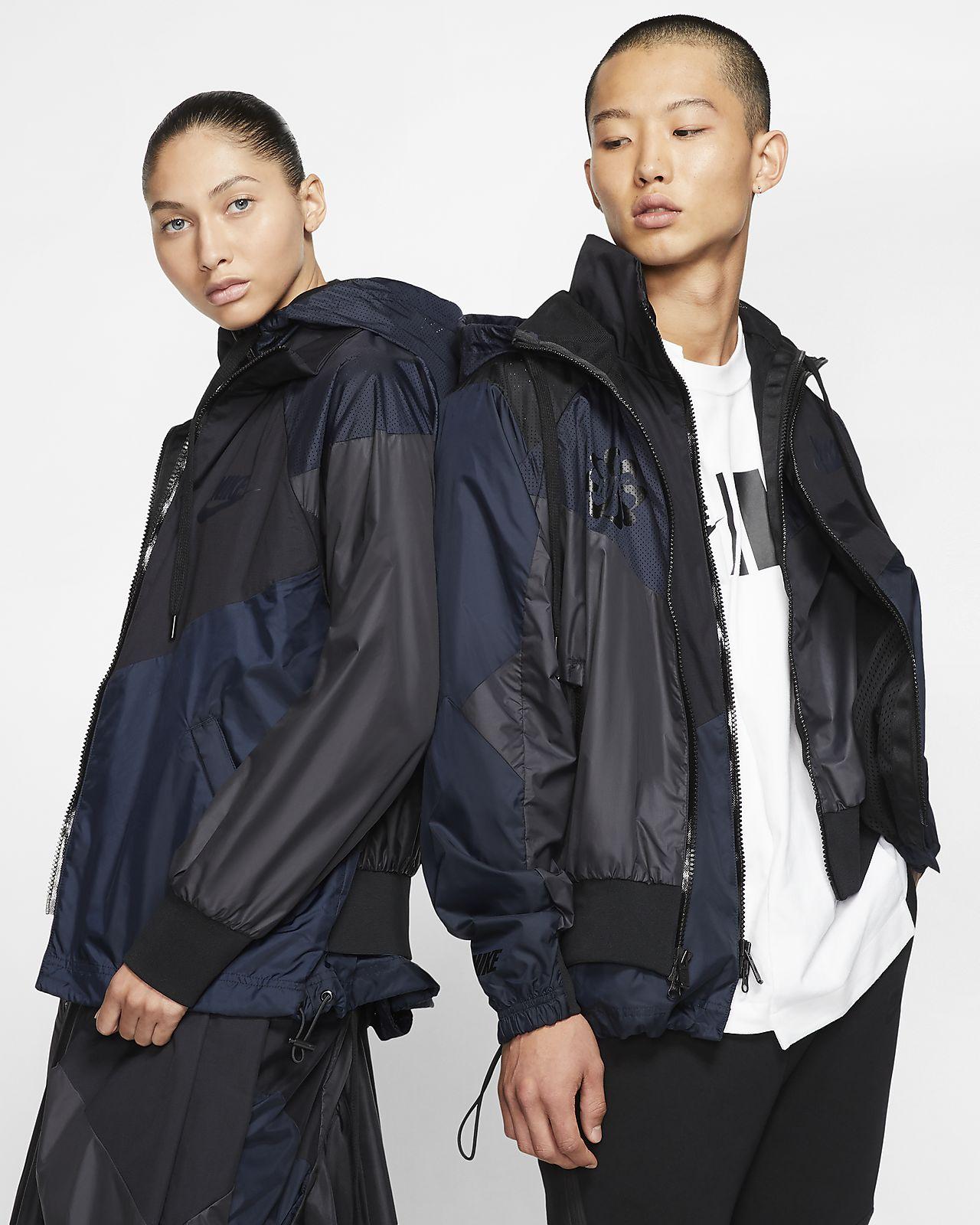 Nike x Sacai 女子连帽夹克