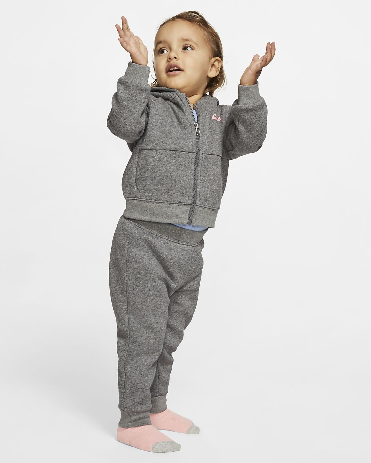 Nike Baby (12–24M) Hoodie and Joggers 2-Piece Set