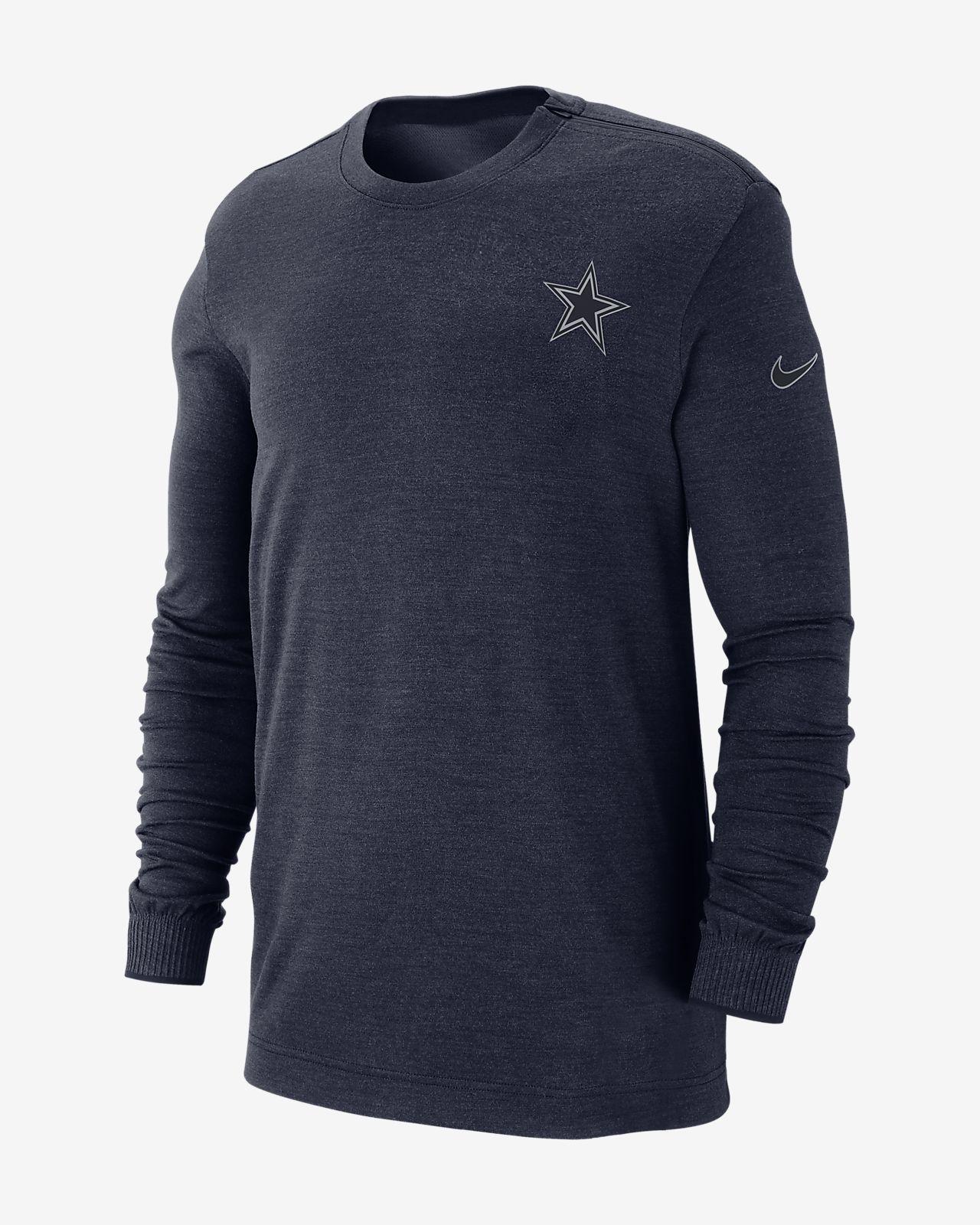 a8129335d64 Nike Sideline Coach (NFL Cowboys) Men's Long Sleeve Top. Nike.com