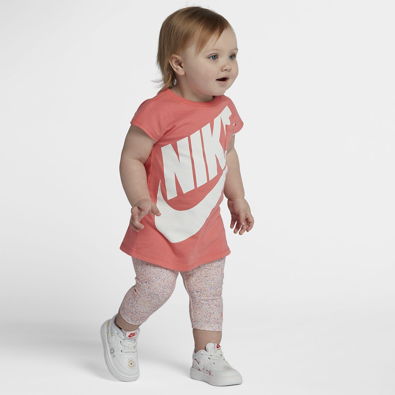 ... Nike Futura Two-Piece Infant/Toddler Girls' Dress And Capris