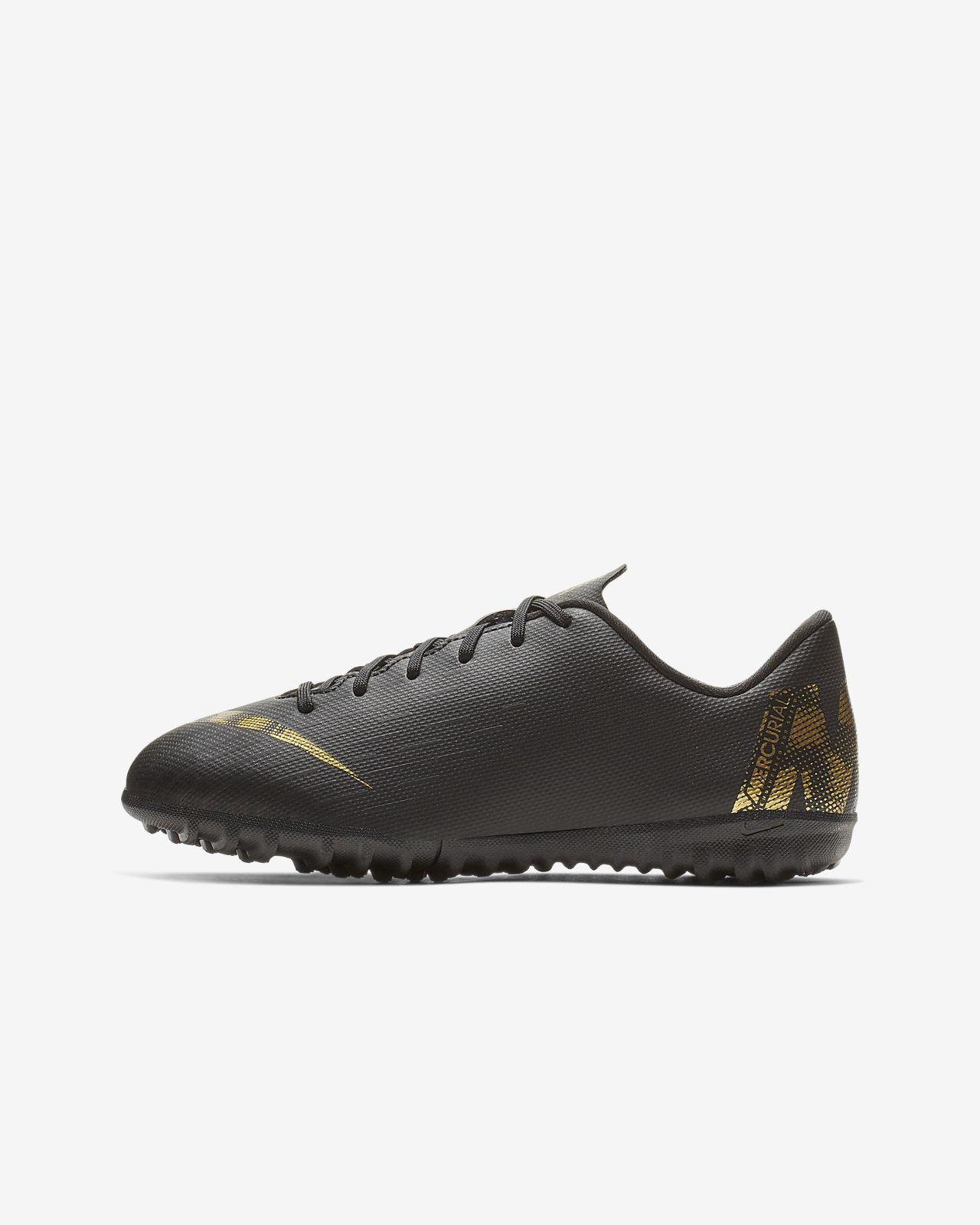 huge discount eea79 764e6 ... Nike Jr. MercurialX Vapor XII-fodboldsko til små/store børn (grus)