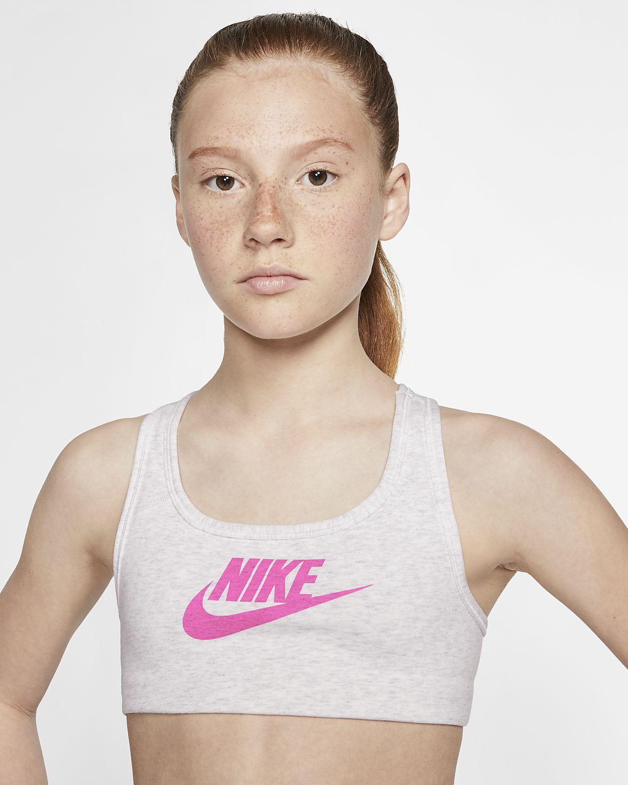 Nike Sportswear-hverdags-bh til piger