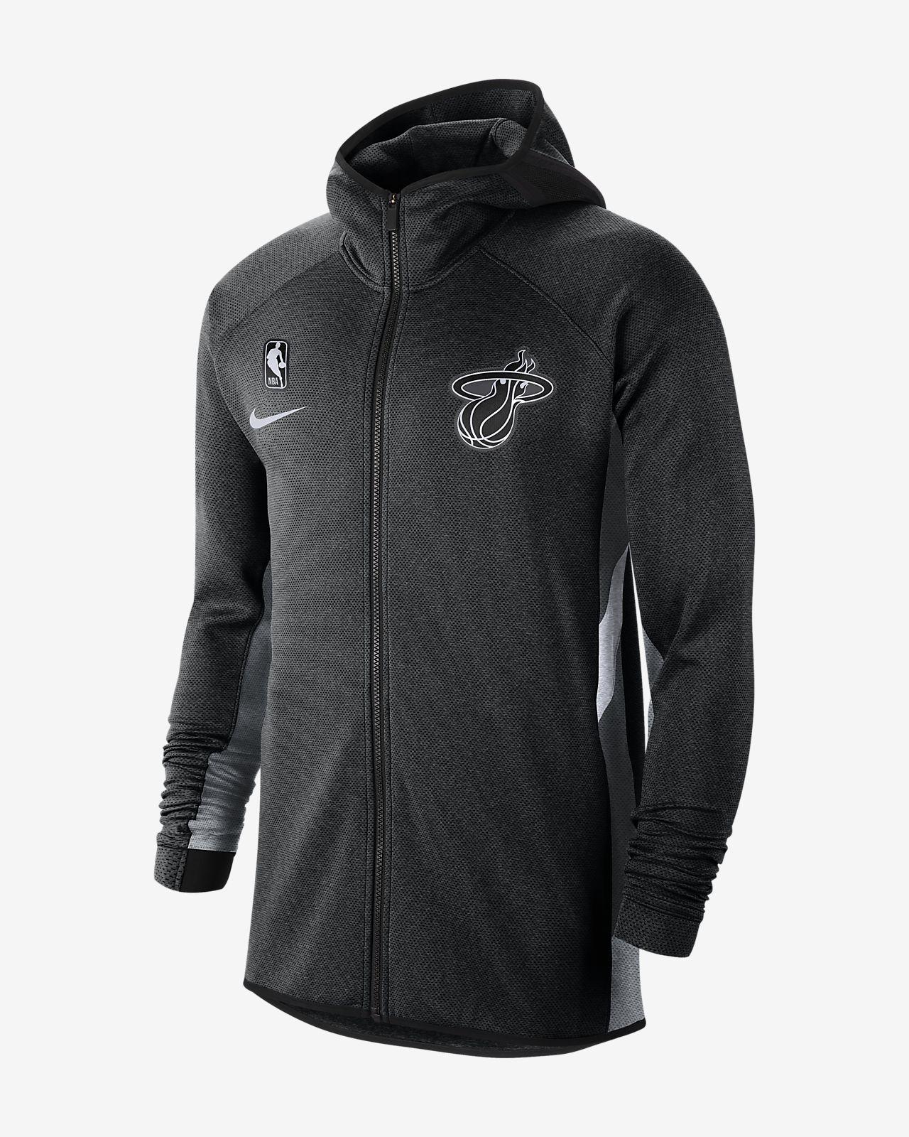 Miami Heat Nike Therma Flex Showtime Men's NBA Hoodie