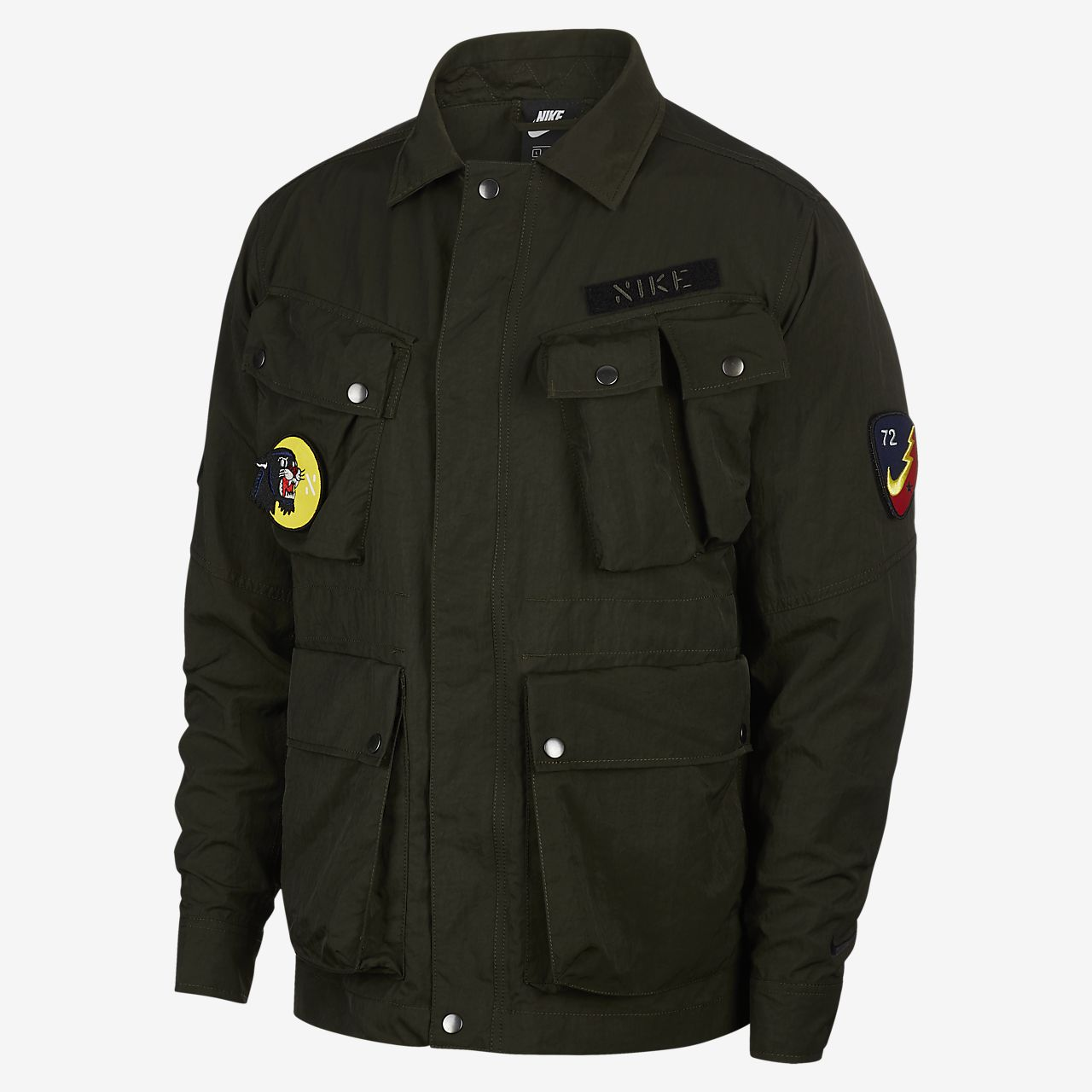 เสื้อแจ็คเก็ตผู้ชายแบบทอ Nike Sportswear