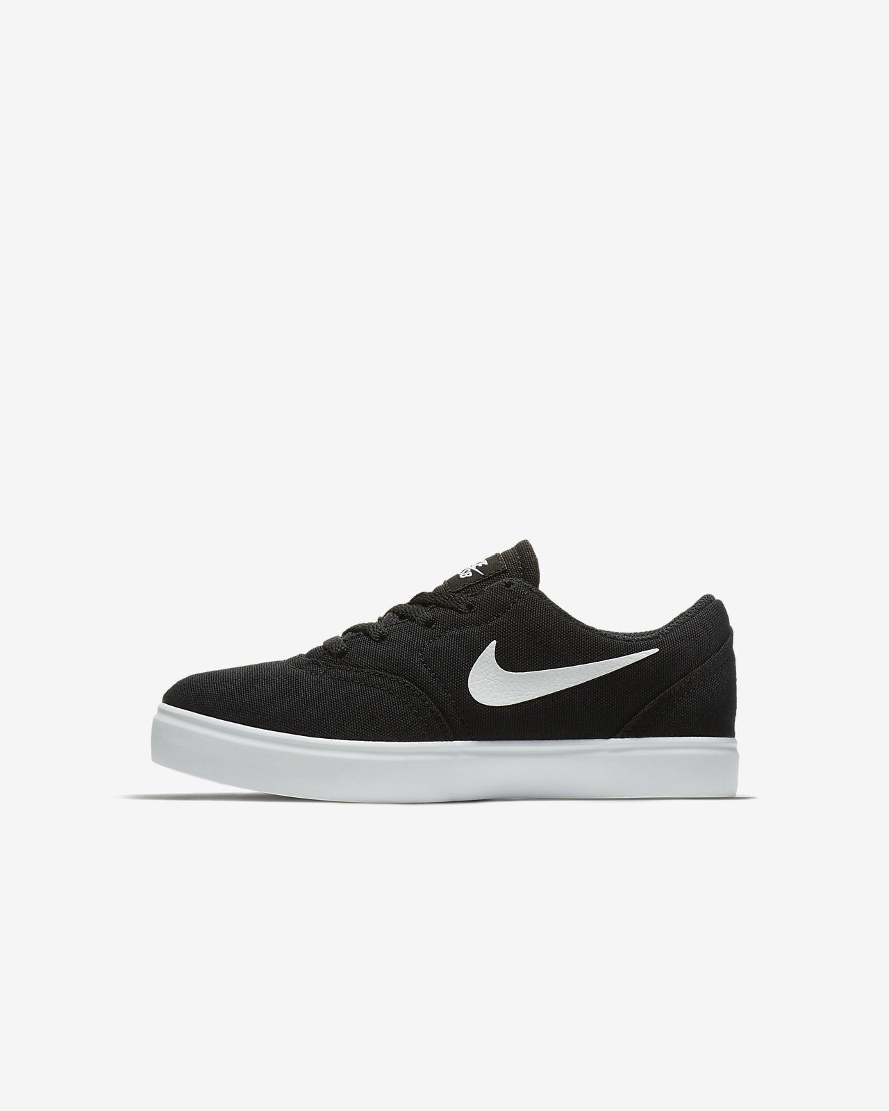Nike SB Check Canvas Schuh für jüngere Kinder