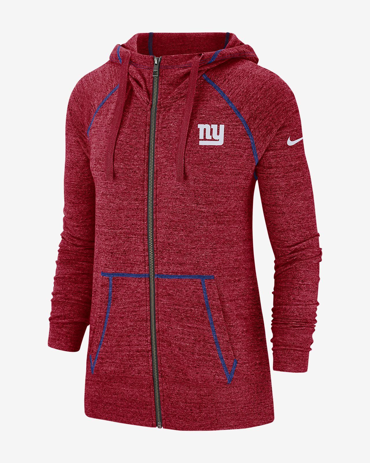 uk availability 6ff2c cf1cf Nike Gym Vintage (NFL Giants) Women's Full-Zip Hoodie