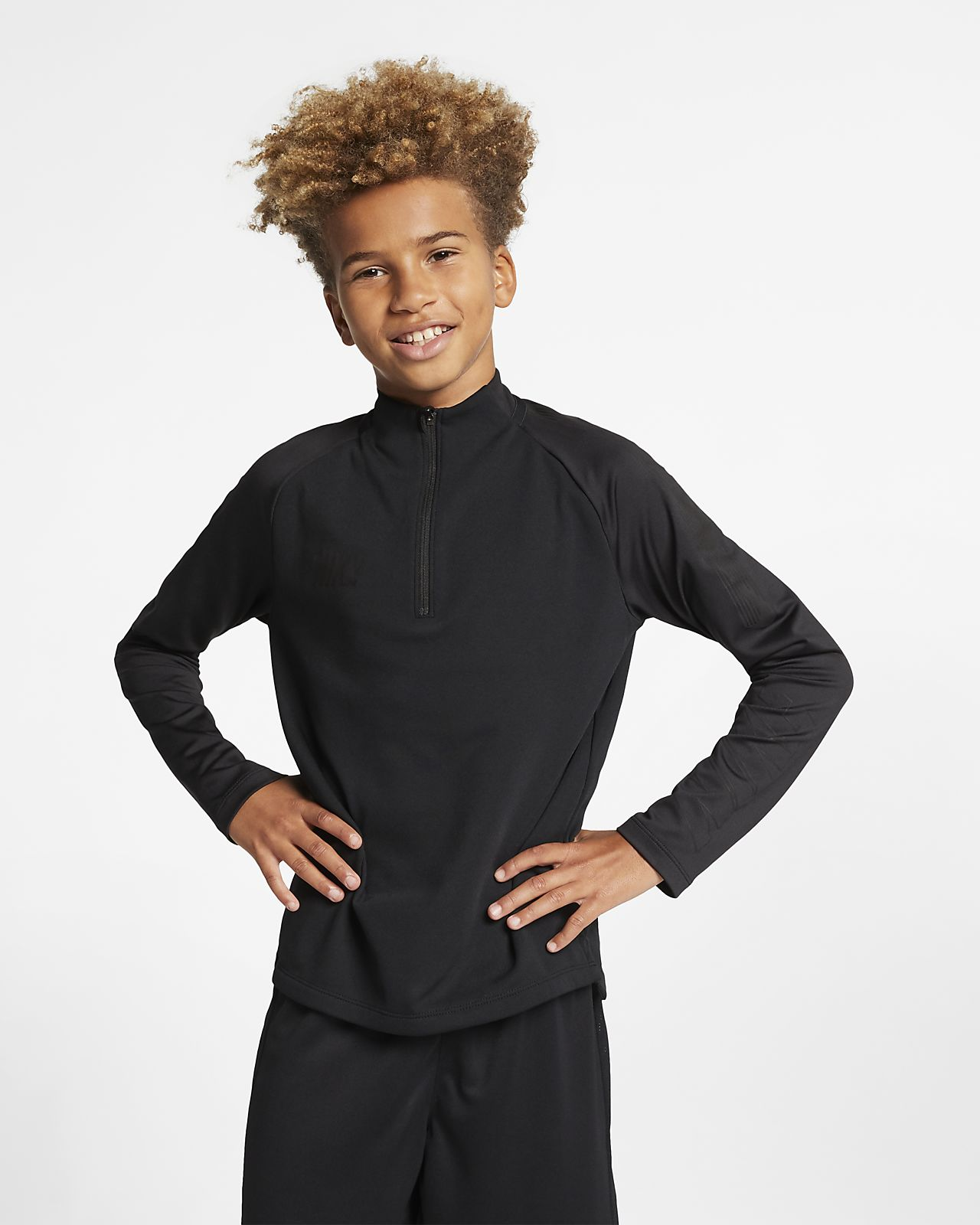 Nike Dri-FIT Squad Older Kids' Football Drill Top