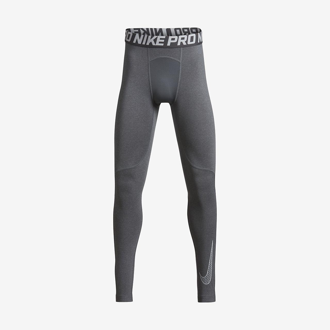 Nike Pro 大童(男孩)训练紧身裤