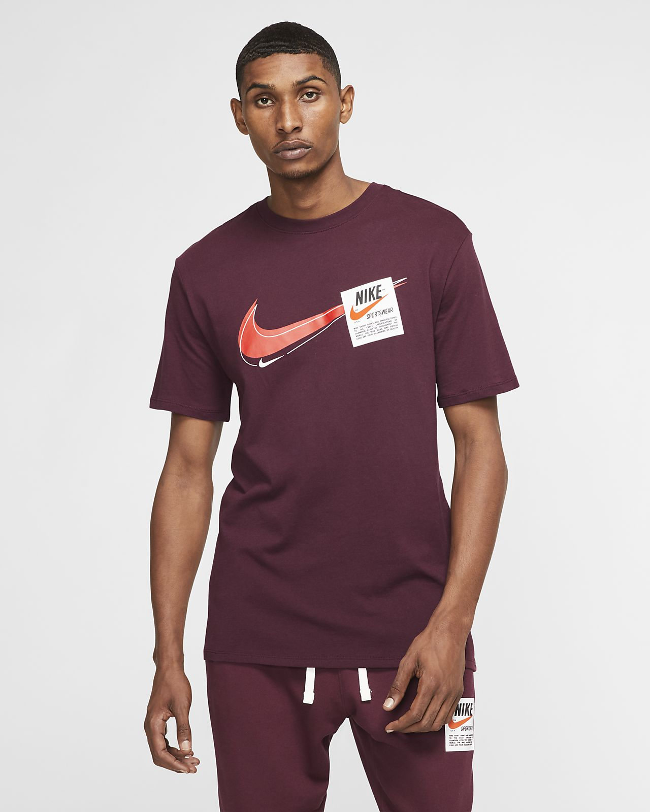 Ανδρικό εμπριμέ T-Shirt Nike Sportswear