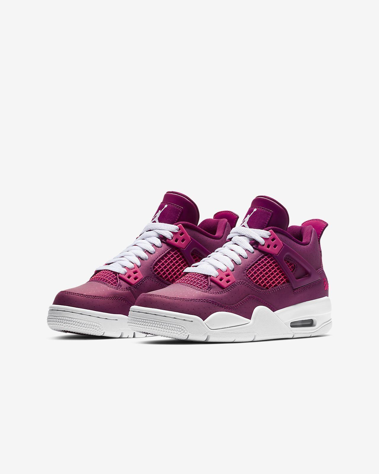 0c7f9e0a7d09b8 Air Jordan 4 Retro Big Kids  Shoe. Nike.com