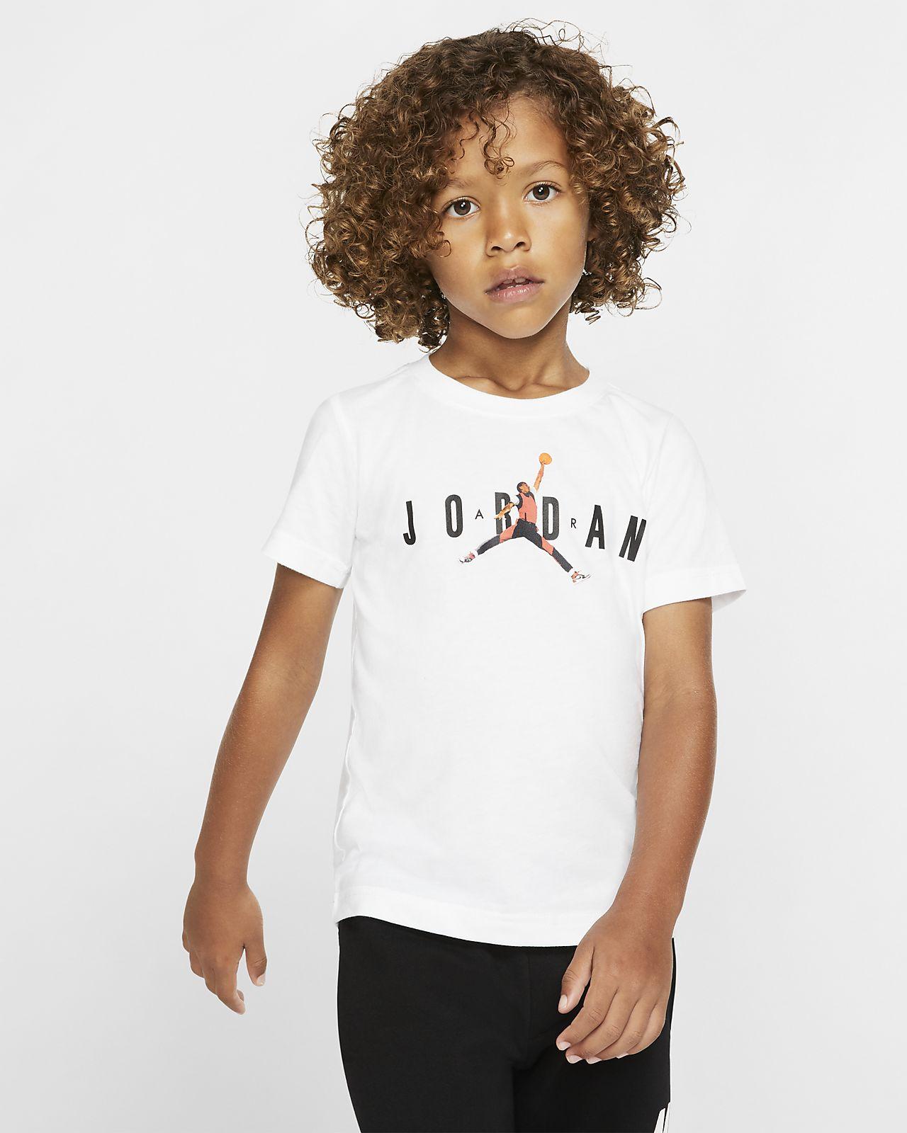 T-shirt z krótkim rękawem dla małych dzieci Jordan Jumpman