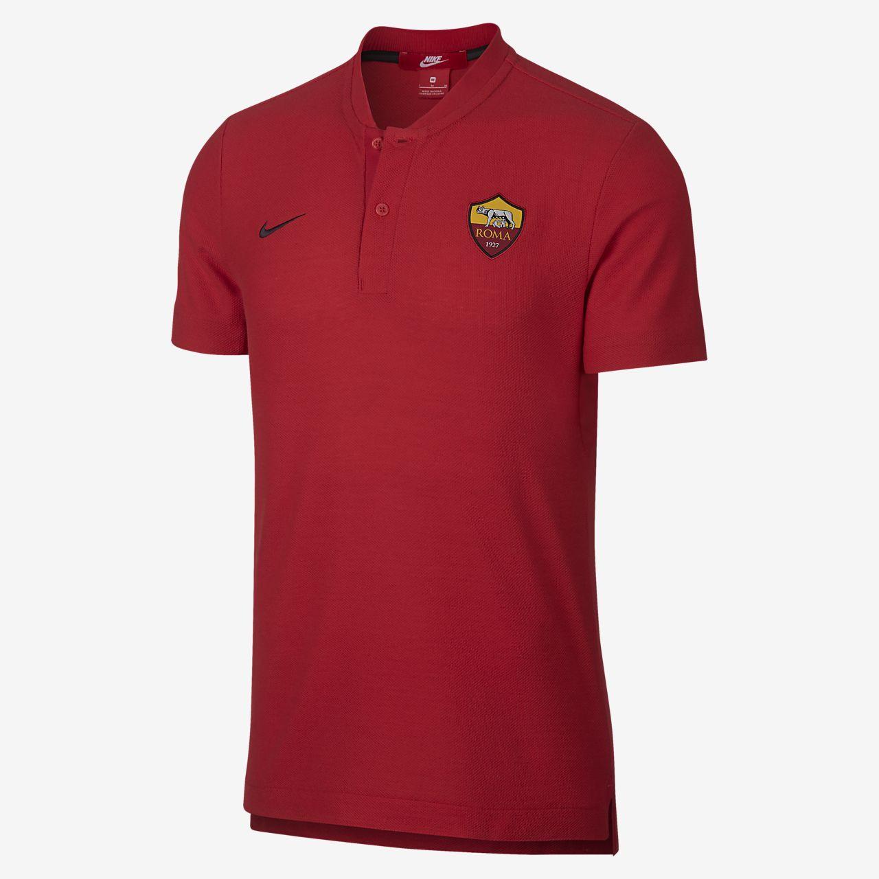Camiseta polo para hombre A.S. Roma Grand Slam. Nike.com PR 9d939b17787