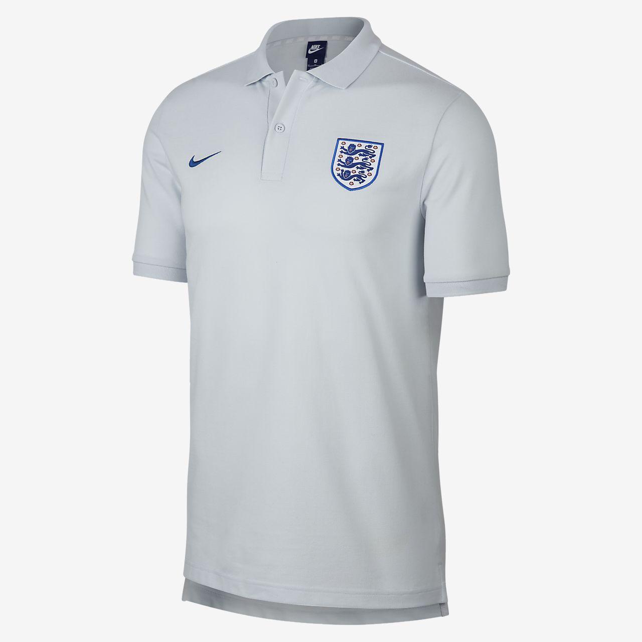 England Mens Polo Nike Gb