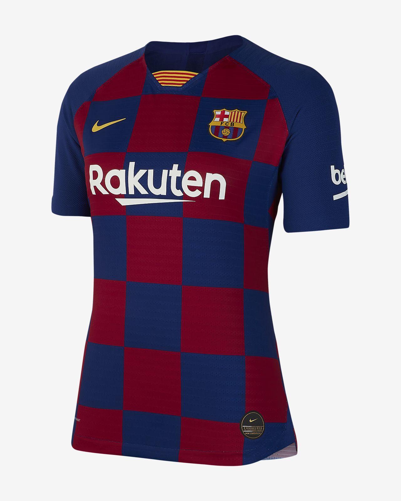 cfe6d927 ... Camiseta de fútbol de local para mujer Vapor Match del FC Barcelona 2019 /20