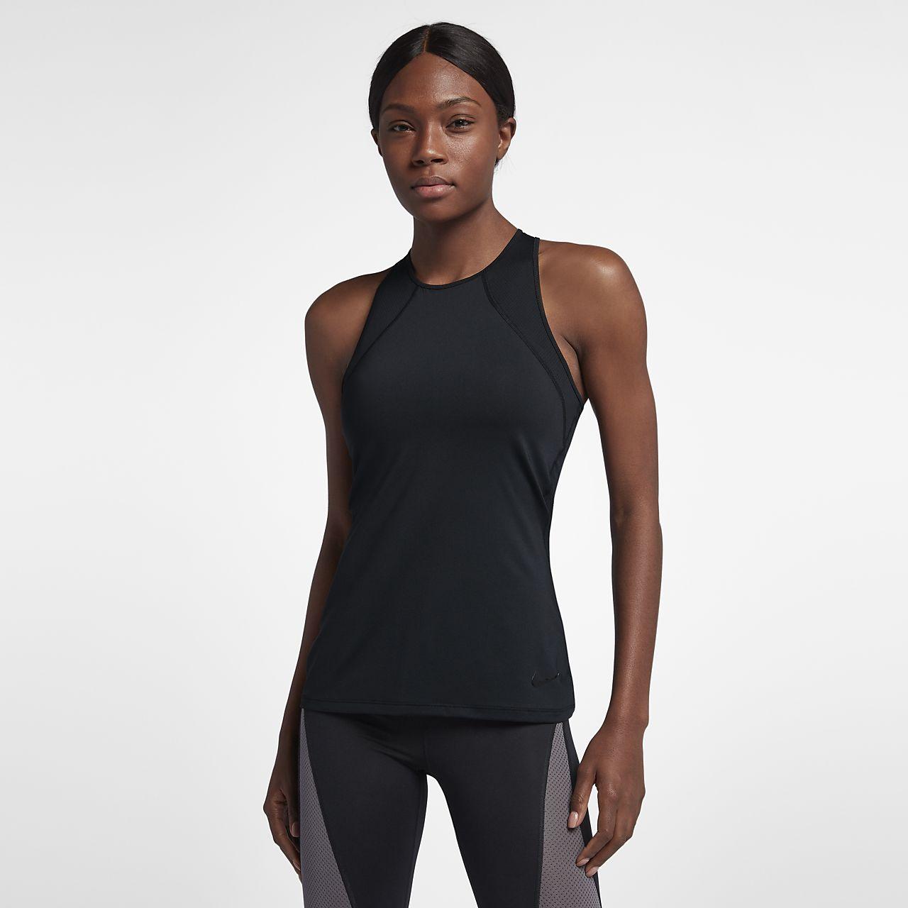 low priced 0b763 e9984 ... Débardeur de training Nike Pro HyperCool pour Femme