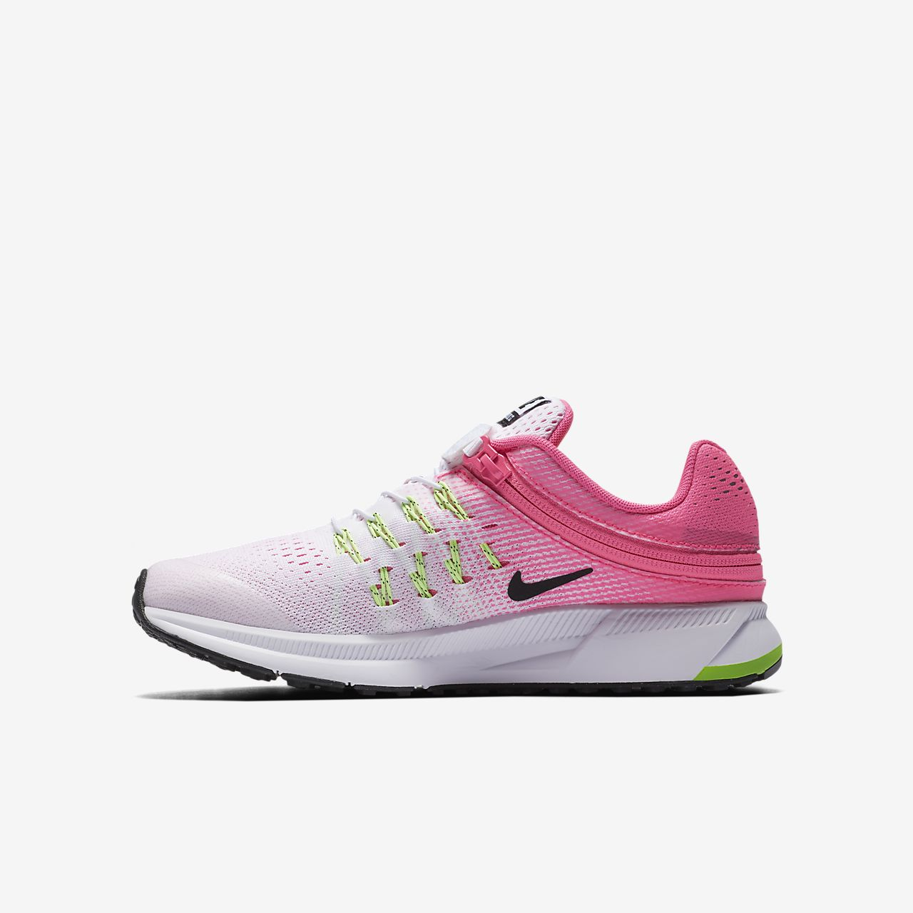 83f93a752b6a ... WhiteConcordBlack Nike Air Zoom Pegasus 33 FlyEase LittleBig Kids  Running Shoe . ...