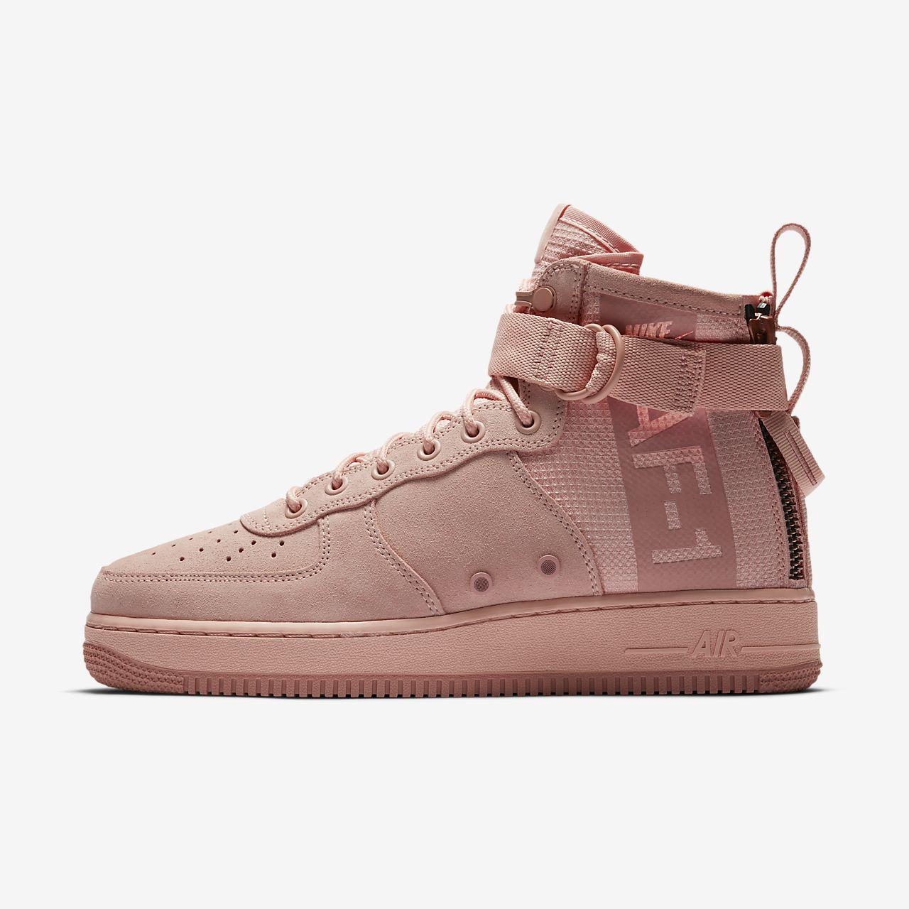 Nike Sf Air Force 1 Chaussures De Sport D'amorçage Hi - Noir aManTQbrD