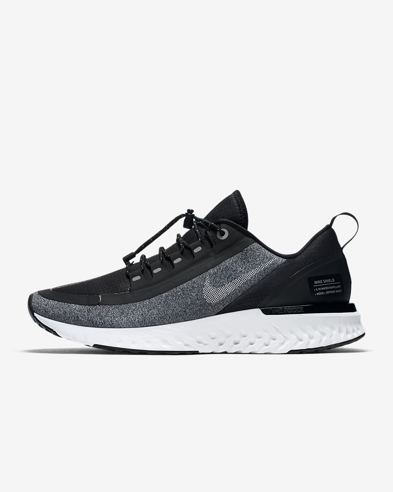 c3a6ea2806cc6 Nike Odyssey React Shield Water-Repellent Women s Running Shoe. Nike ...