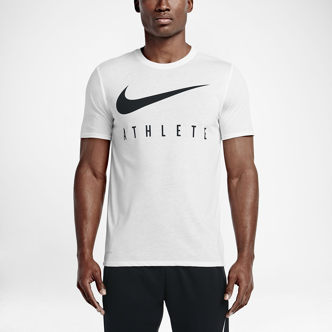 Nike Swoosh Athlete Photo BlauPhoto BlauSchwarz  TShirt