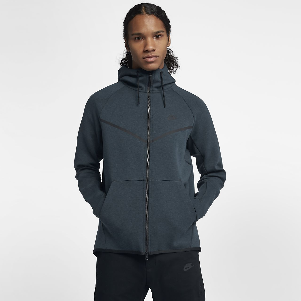Cheap Really Sportswear Cotton-blend Tech Fleece Zip-up Hoodie Nike Shopping Online With Mastercard Buy Cheap Purchase Countdown Package Online Buy Cheap Really lepg85