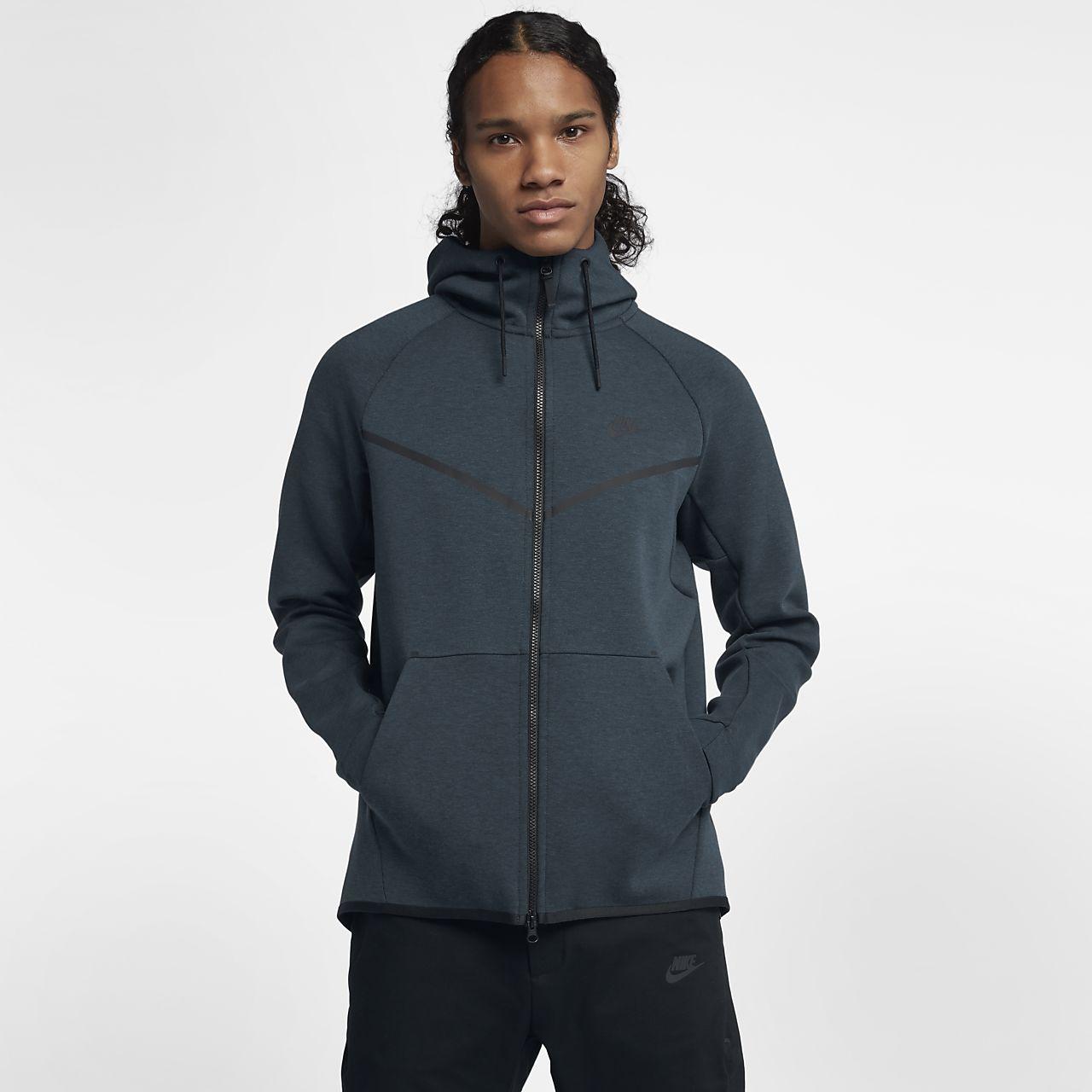 ... Sweat à capuche entièrement zippé Nike Sportswear Tech Fleece  Windrunner pour Homme