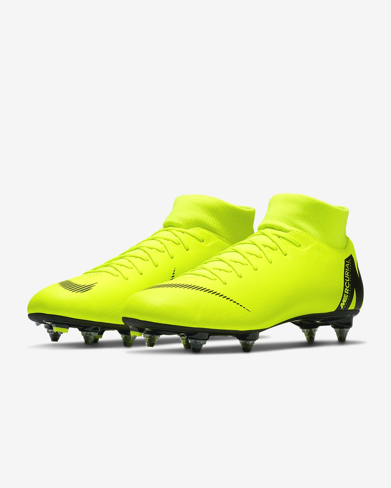 brand new 0d404 814c9 ... Chaussure de football à crampons pour terrain gras Nike Mercurial  Superfly VI Academy SG-PRO