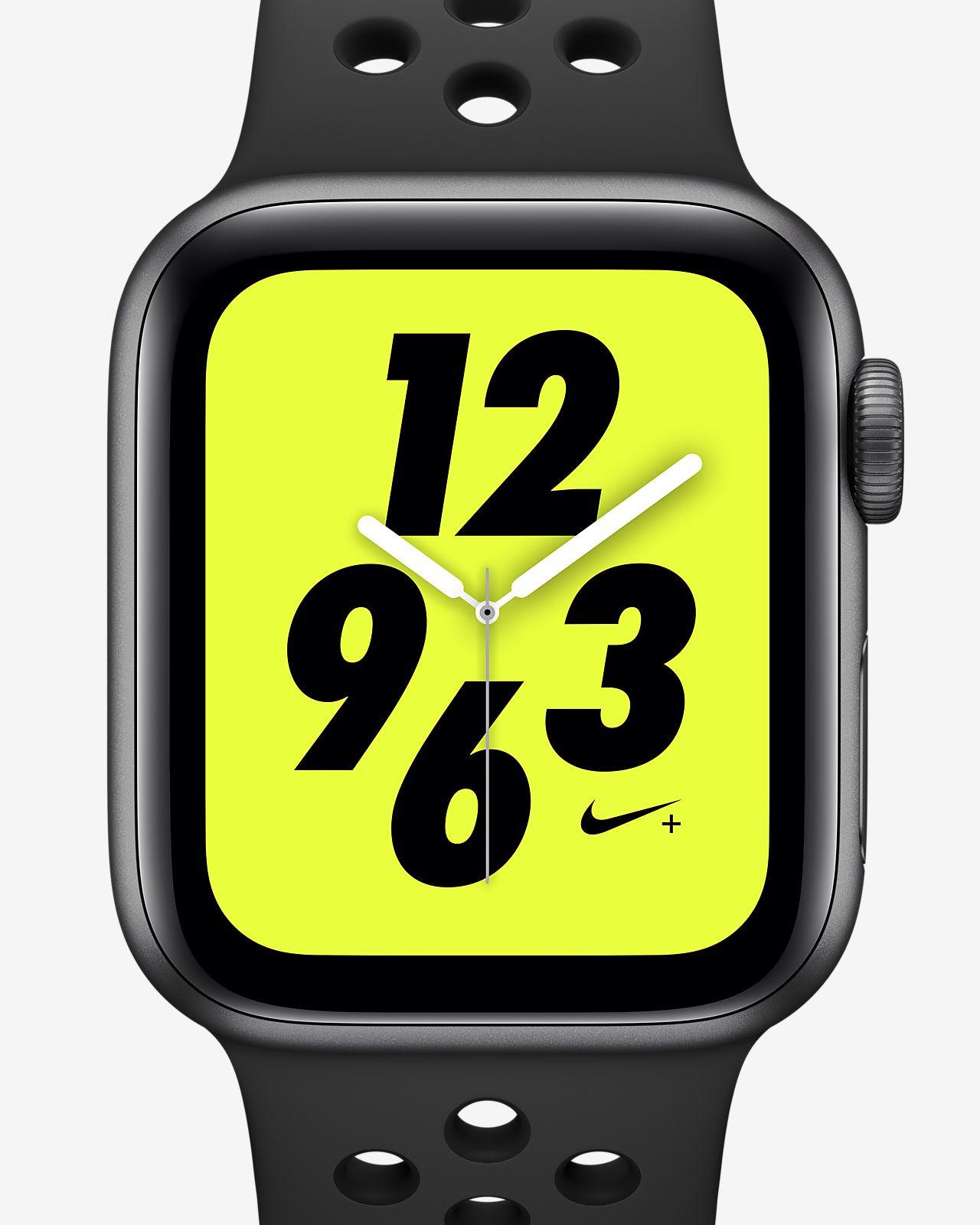 Apple Watch Nike+ Series 4 (GPS + Cellular) con correa Nike Sport Reloj deportivo de 40 mm