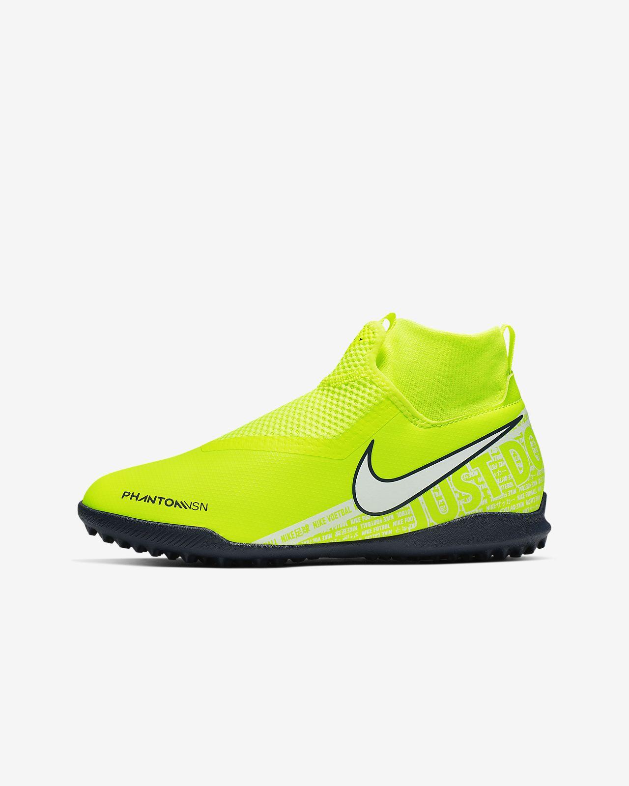 Buty piłkarskie na nawierzchnię typu turf dla małych/dużych dzieci Nike Jr. Phantom Vision Academy Dynamic Fit