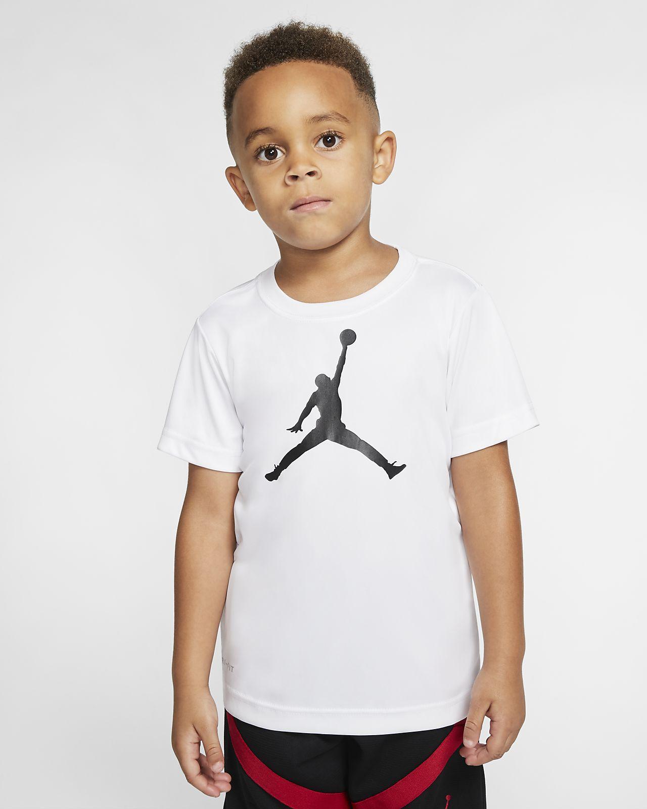 T-Shirt Jordan Dri-FIT για μικρά παιδιά
