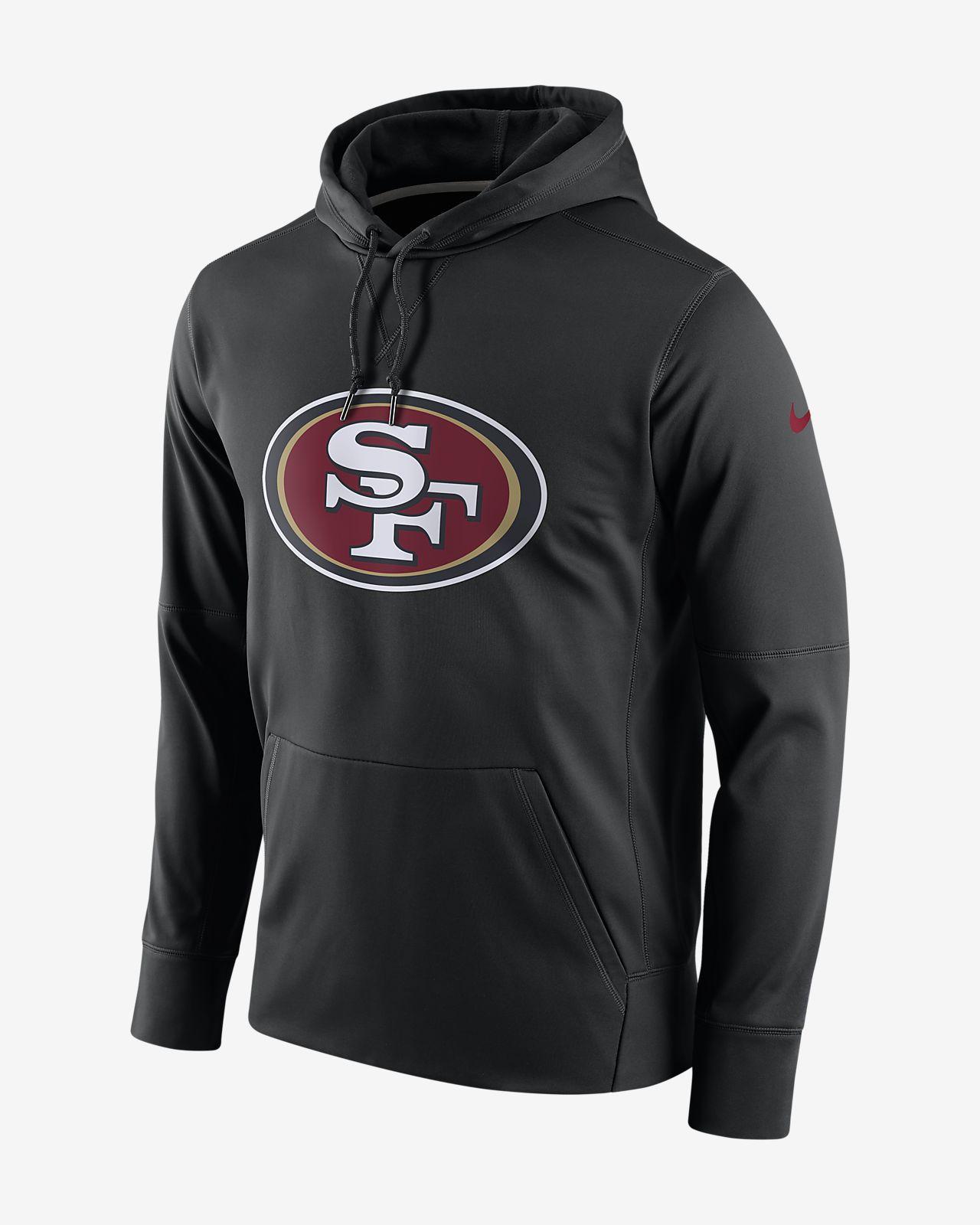 Ανδρική μπλούζα με κουκούλα Nike Circuit Logo Essential (NFL 49ers)